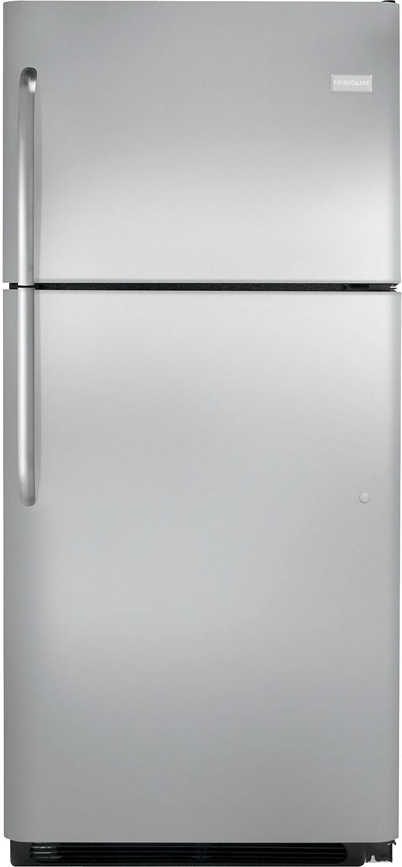 Refrigerators and Freezers - Frigidaire 20.5 Cu. Ft. Top-Freezer Refrigerator – Stainless Steel
