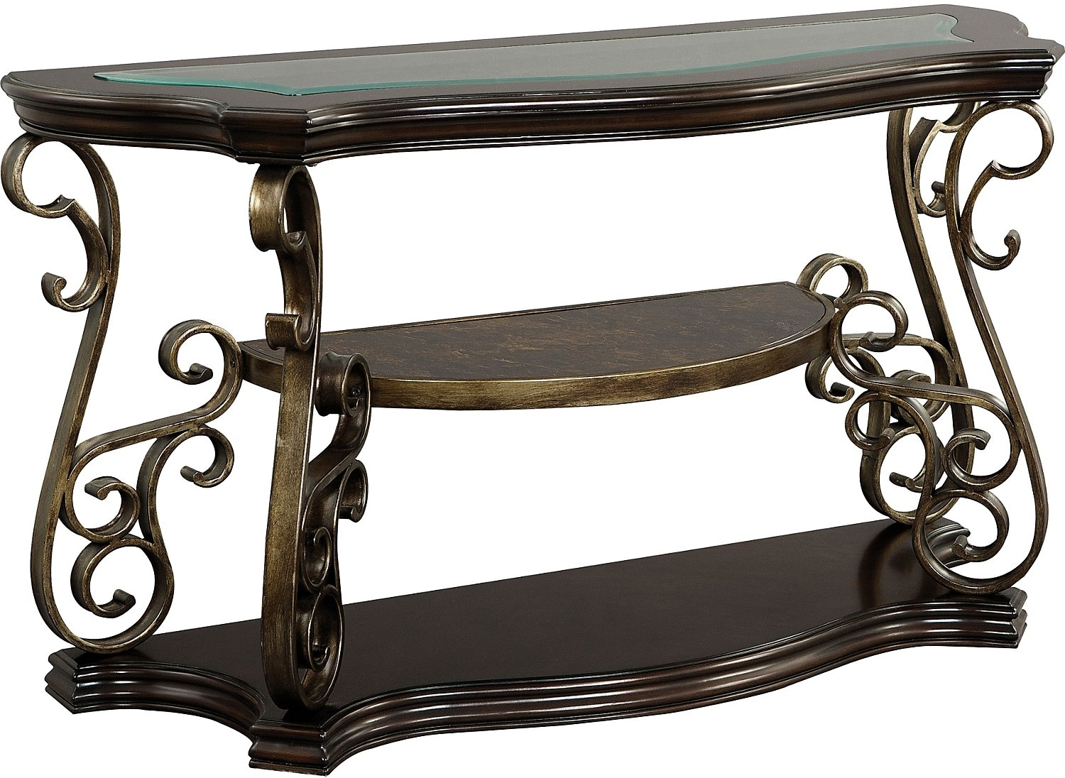 Accent and Occasional Furniture - Clermont Sofa Table