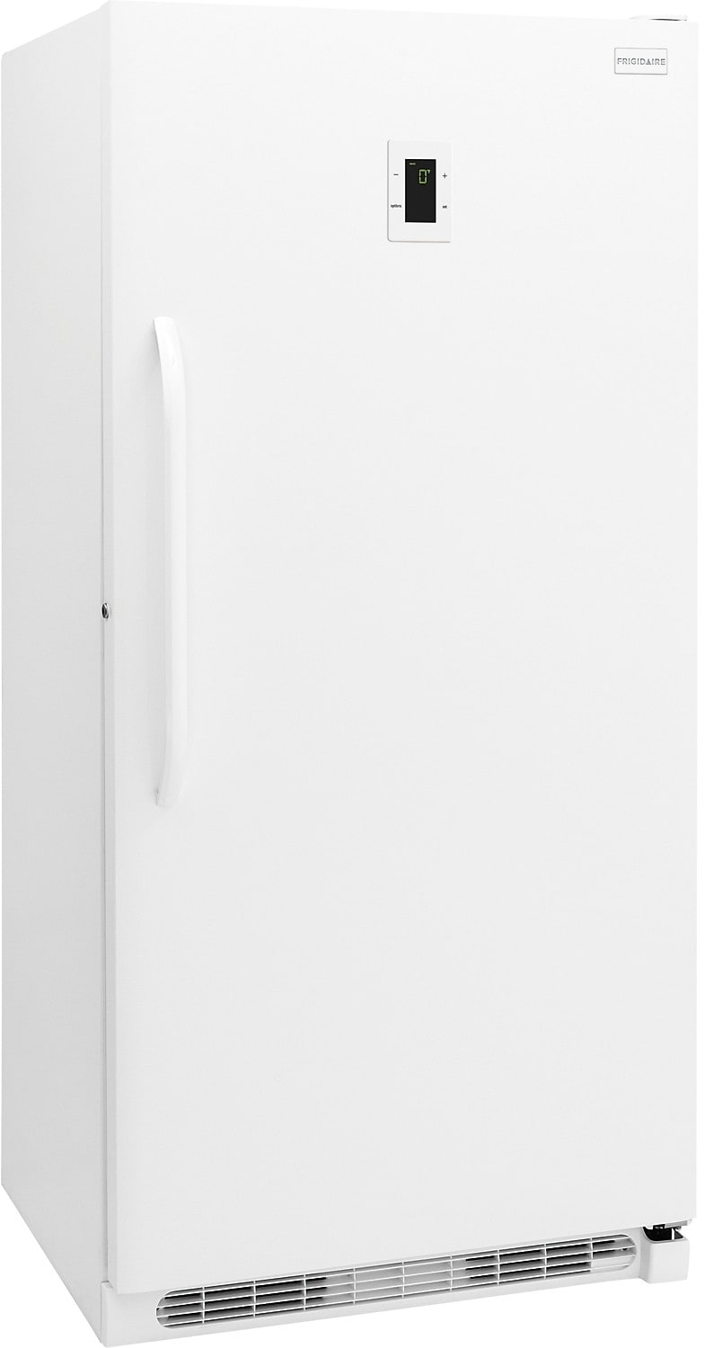 Refrigerators and Freezers - Frigidaire 16.9 Cu. Ft. Frost-Free Upright Freezer - White