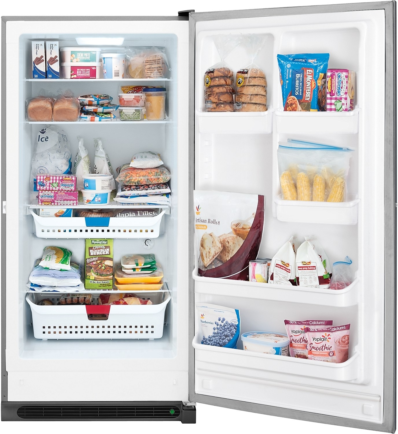 Vertical Freezers For Sale Frigidaire 166 Cu Ft Frost Free Upright Freezer Slate The Brick