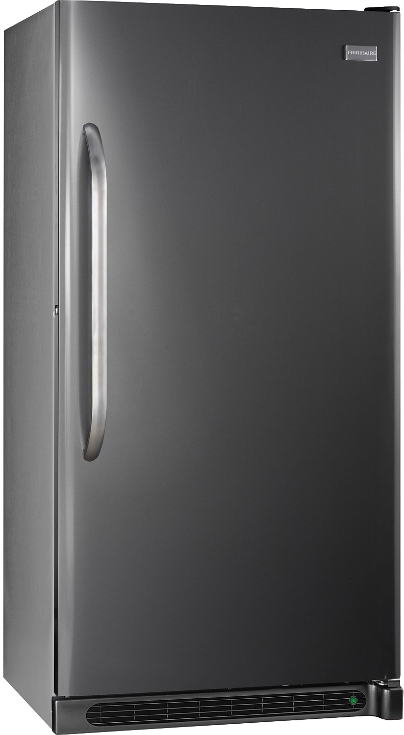 frigidaire 16 6 cu ft frost free upright freezer slate the brick. Black Bedroom Furniture Sets. Home Design Ideas