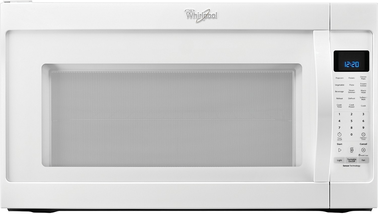 Cooking Products - Whirlpool® 2.0 Cu. Ft. Over-the-Range Microwave – White