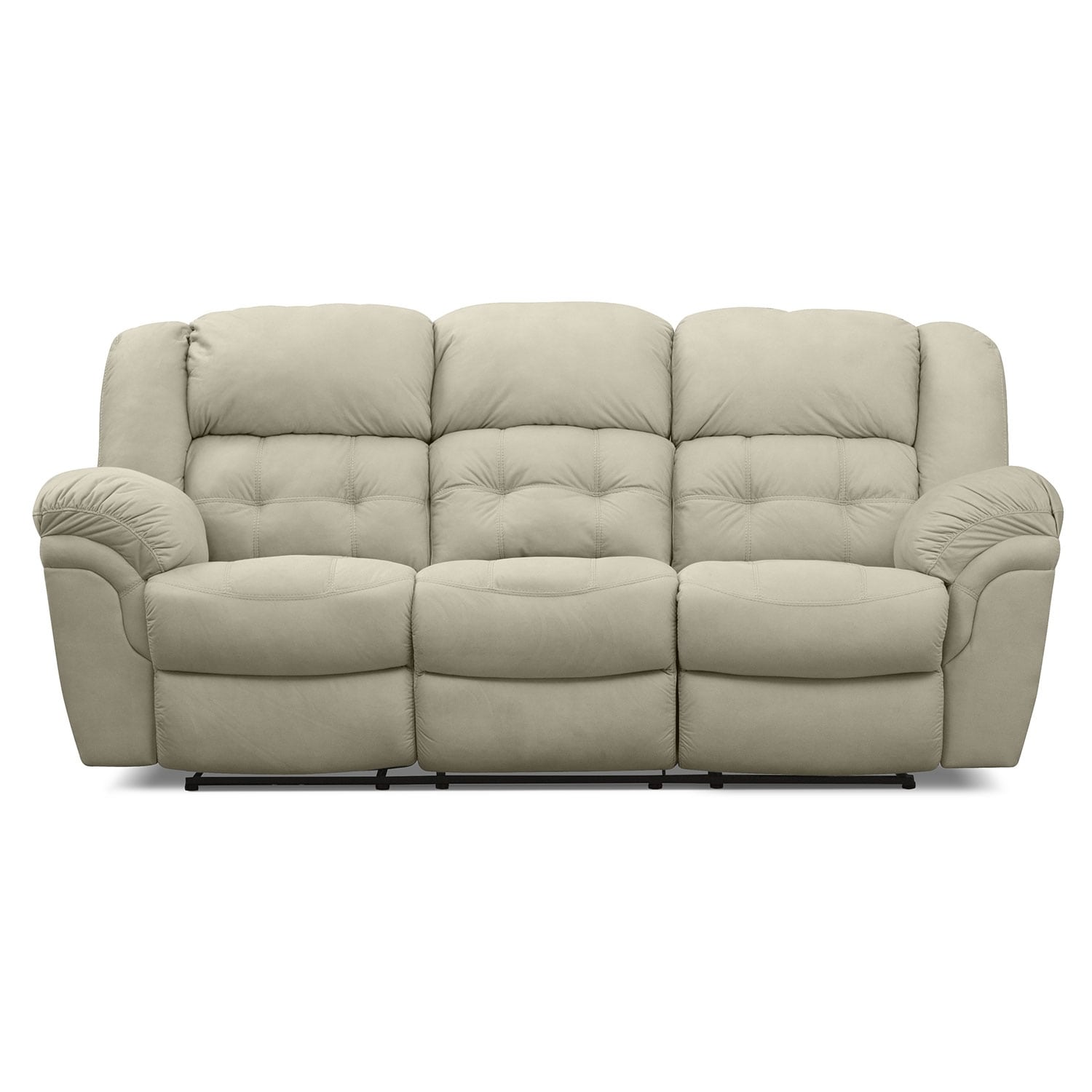 Benton Beige Reclining Sofa Furniture Com