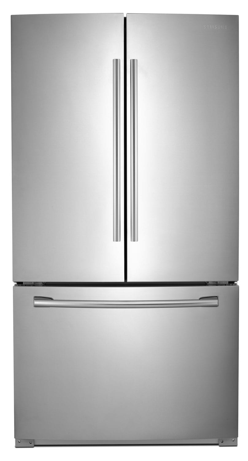 Refrigerators and Freezers - Samsung Stainless Steel French Door Refrigerator (25.5 Cu. Ft.) - RF261BEAESR