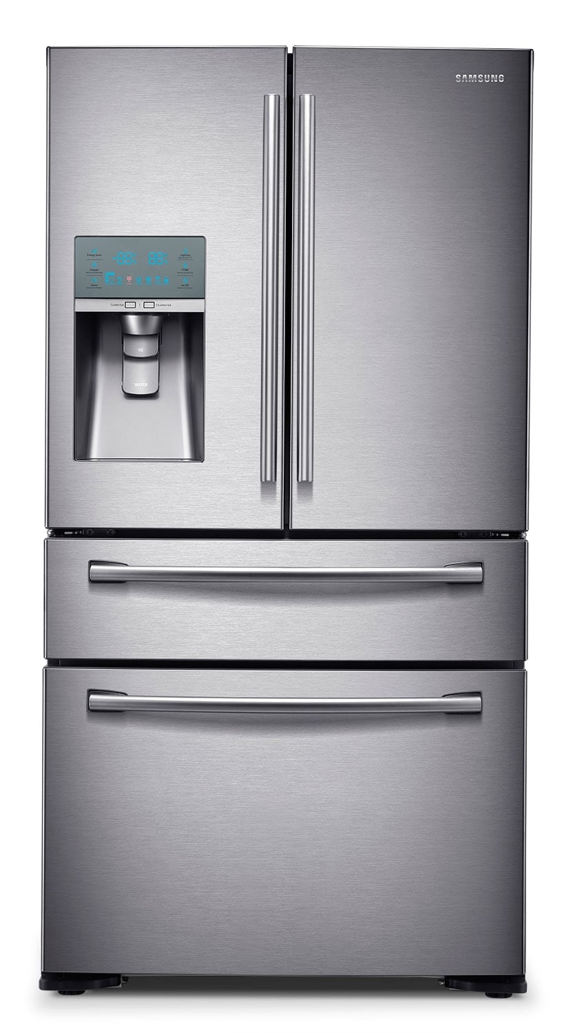 Refrigerators and Freezers - Samsung Stainless Steel French Door Refrigerator (23.6 Cu. Ft.) - RF24FSEDBSR