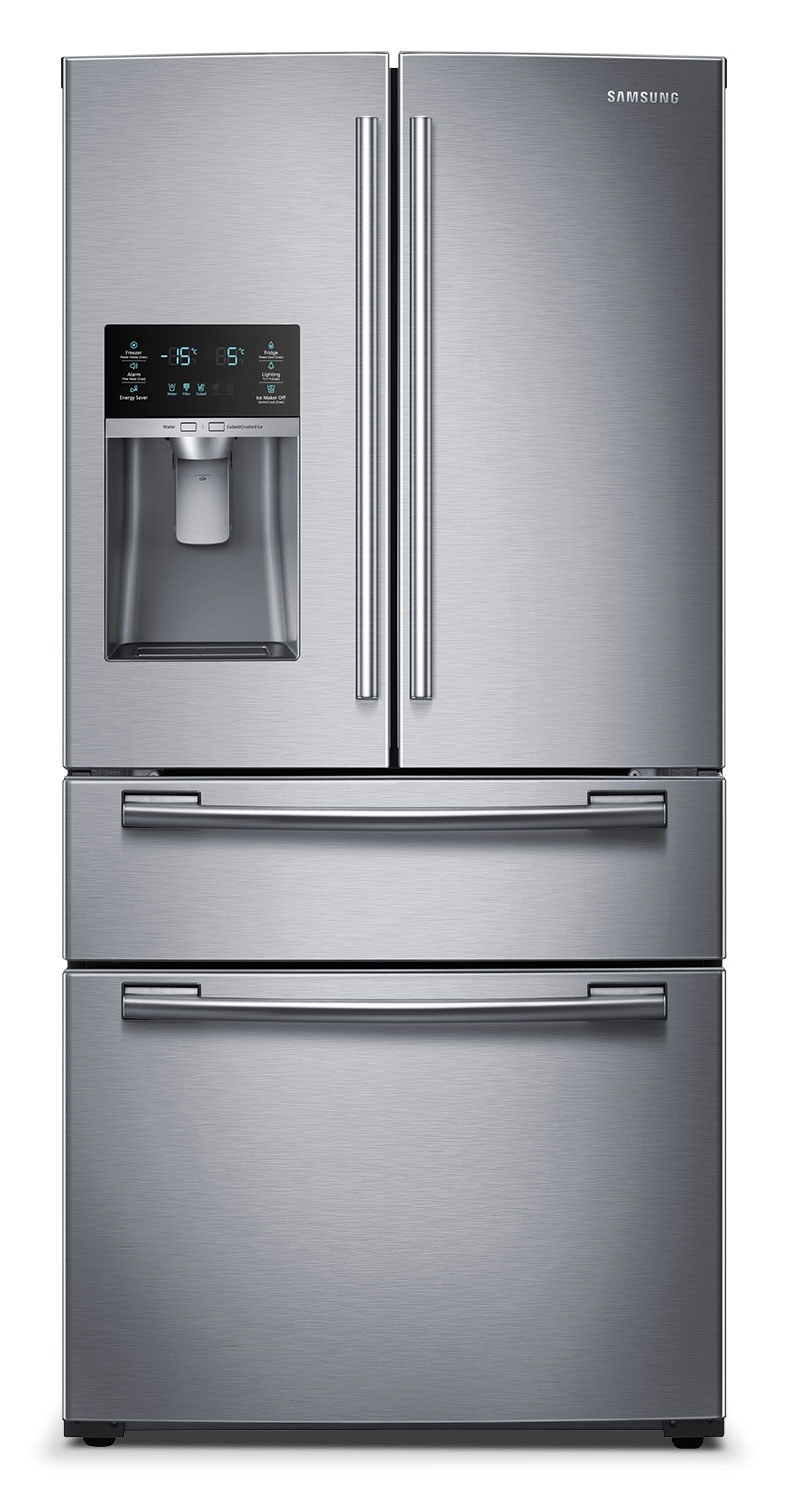Samsung Stainless Steel French Door Refrigerator (28.2 Cu. Ft.) - RF28HMEDBSR