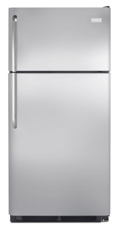 Refrigerators and Freezers - Frigidaire Stainless Steel Top-Freezer Refrigerator (18 Cu. Ft.) - FFTR1821QS