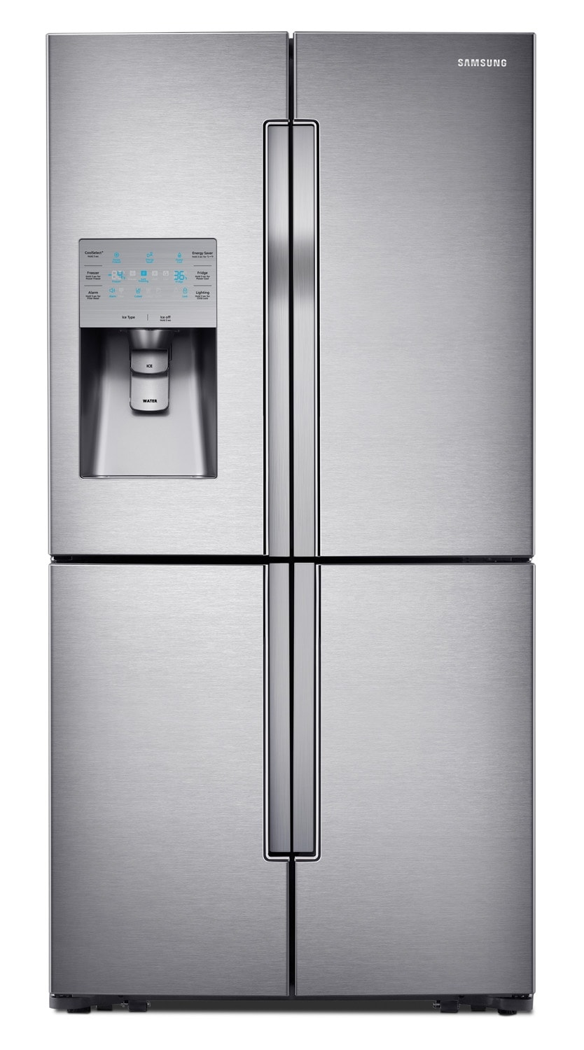 [Samsung Stainless Steel French Door Refrigerator (31.8 Cu. Ft.) - RF32FMQDBSR]