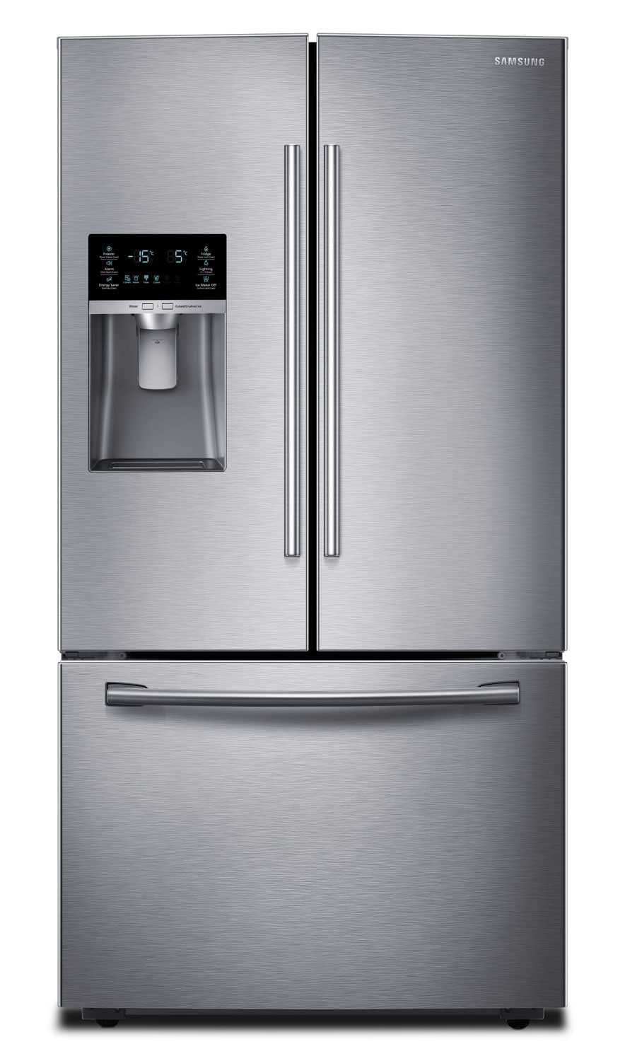Samsung Stainless Steel French Door Refrigerator (22.5 Cu. Ft.) - RF23HCEDBSR