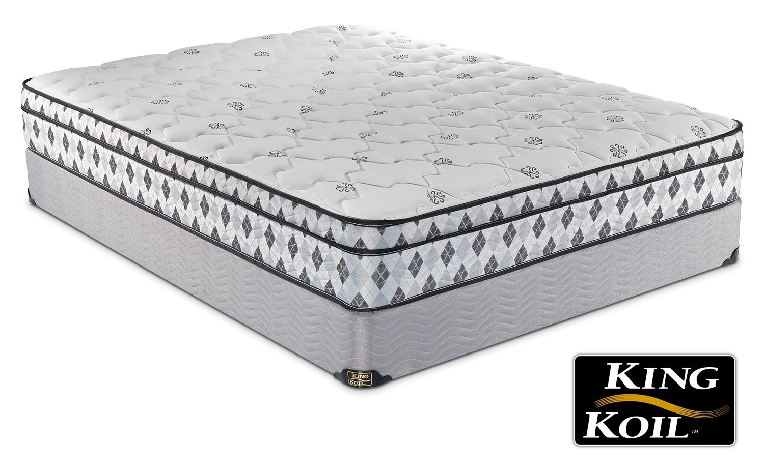 King Koil Silent Night Queen Mattress/Boxspring Set