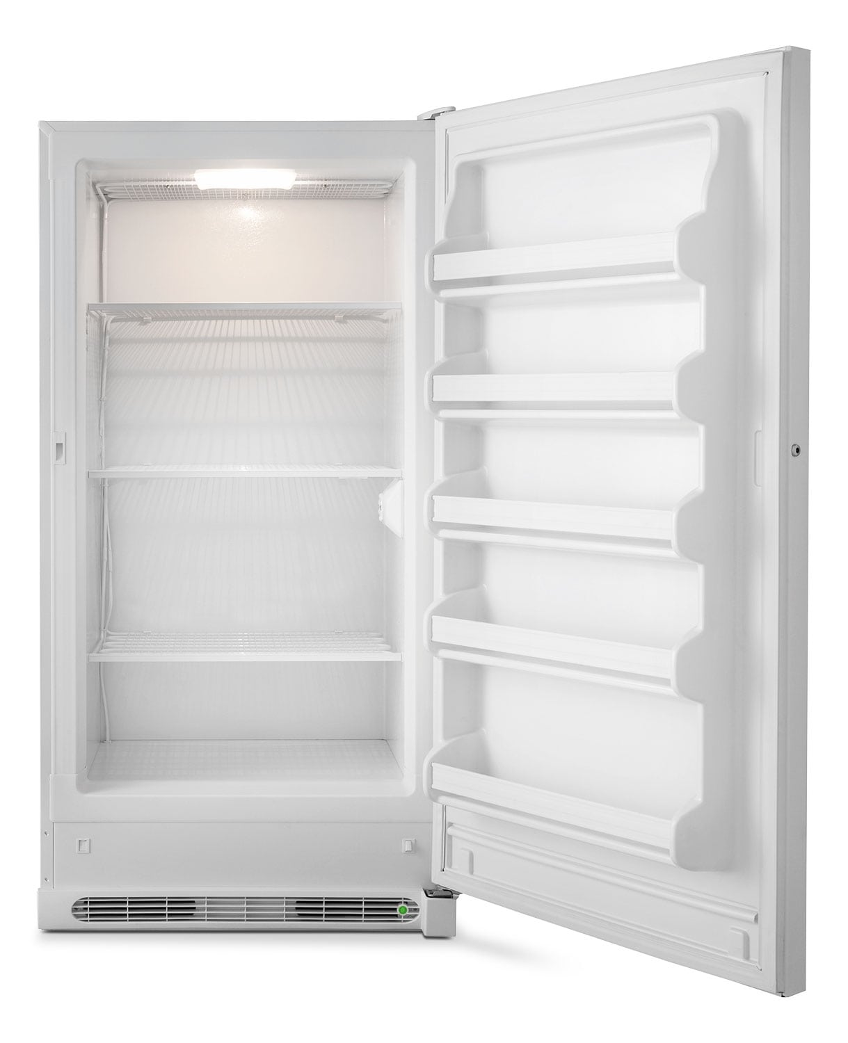 Vertical Freezers For Sale Frigidaire White Upright Freezer 17 Cu Ft Fffu17m1qw Leons