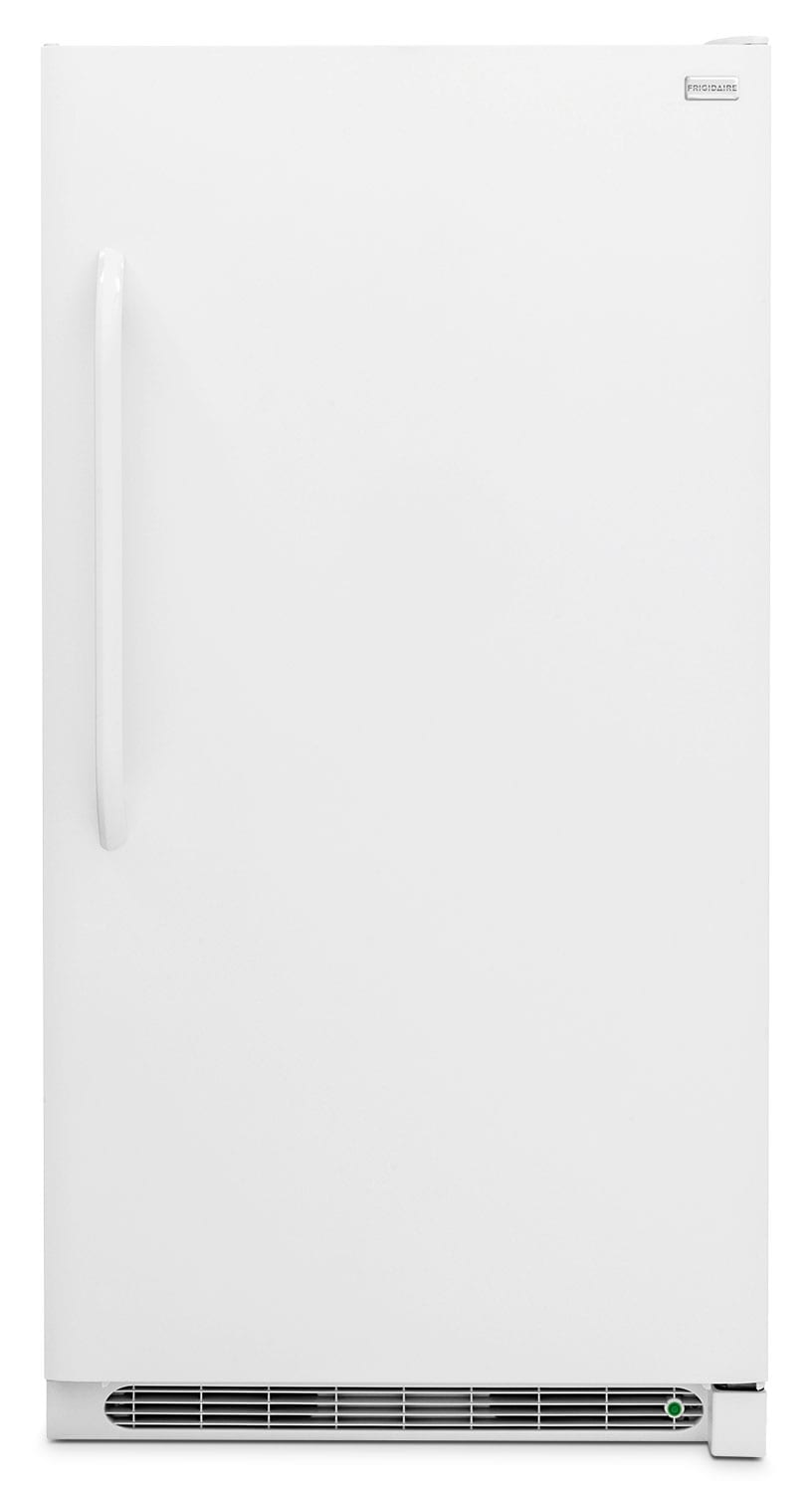 Refrigerators and Freezers - Frigidaire White Upright Freezer (17 Cu. Ft.) - FFFU17M1QW