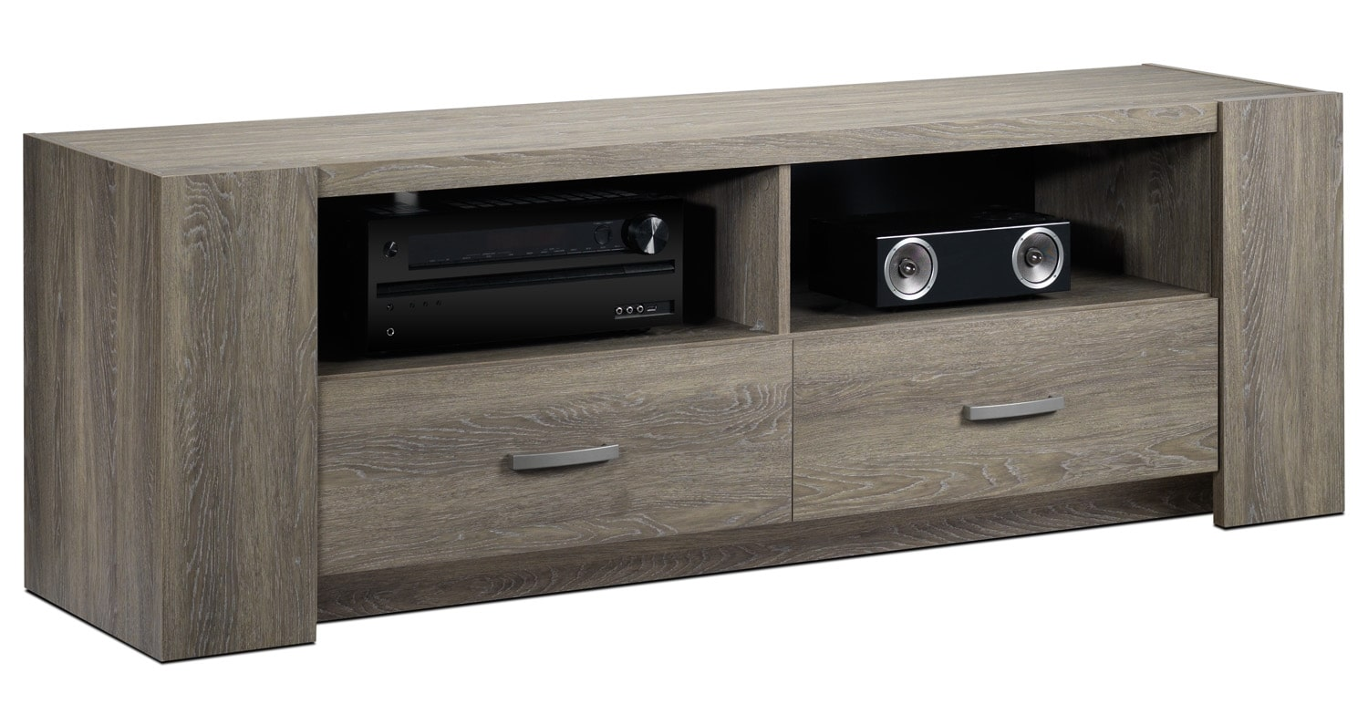 Entertainment Furniture - Foster TV Stand - Barnwood