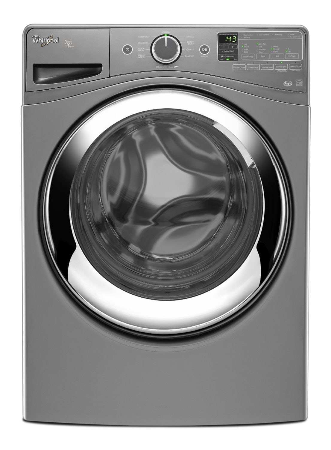 Washers and Dryers - Whirlpool Duet® 5.0 Cu. Ft. Front-Load Washer – WFW87HEDC