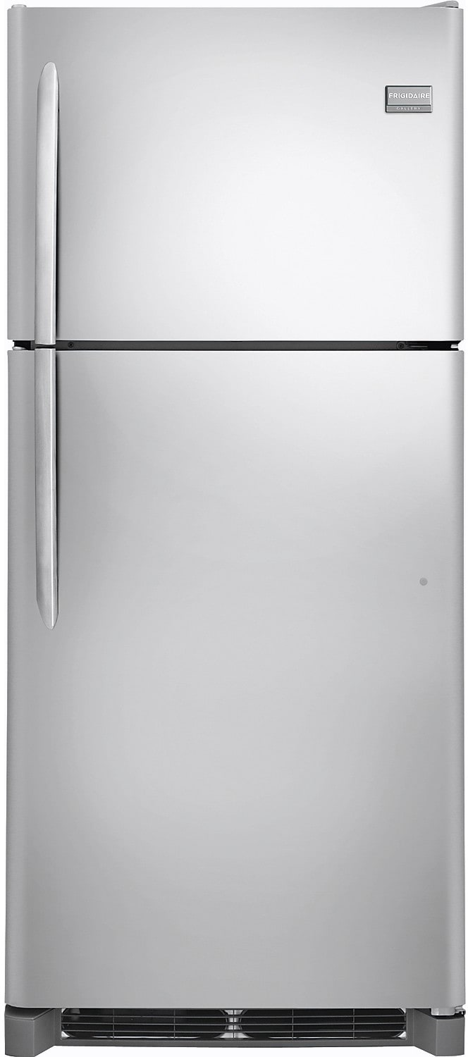 Refrigerators and Freezers - Frigidaire Gallery 20.4 Cu. Ft. Top-Mount Refrigerator – Stainless Steel
