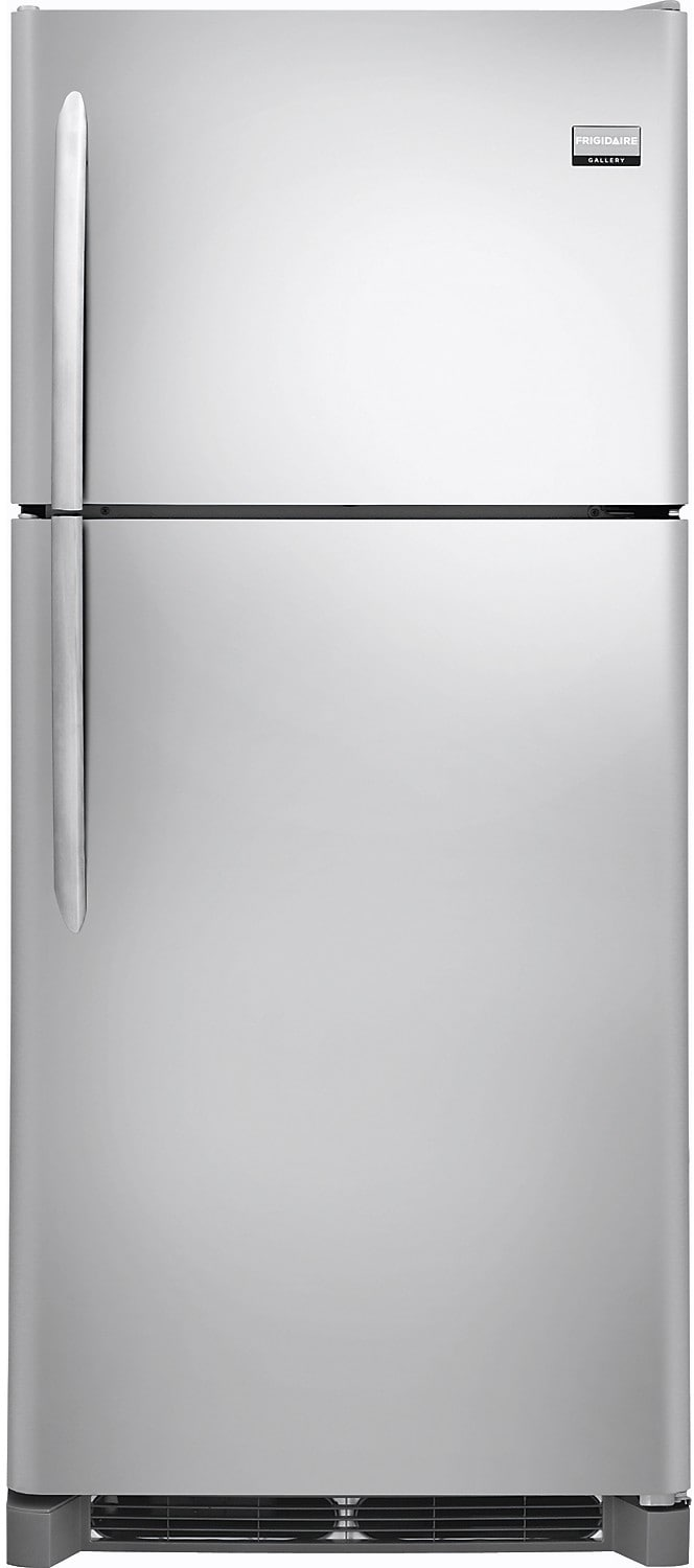 Frigidaire Gallery 20.4 Cu. Ft. Top-Mount Refrigerator with Store-More™ Shelf – Stainless