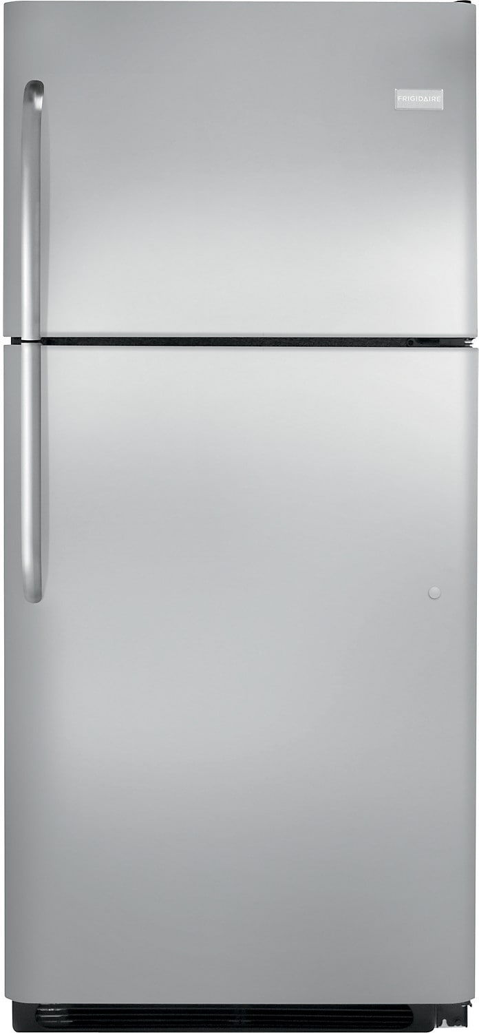 Refrigerators and Freezers - Frigidaire 20.4 Cu. Ft. Top-Freezer Refrigerator – Stainless Steel