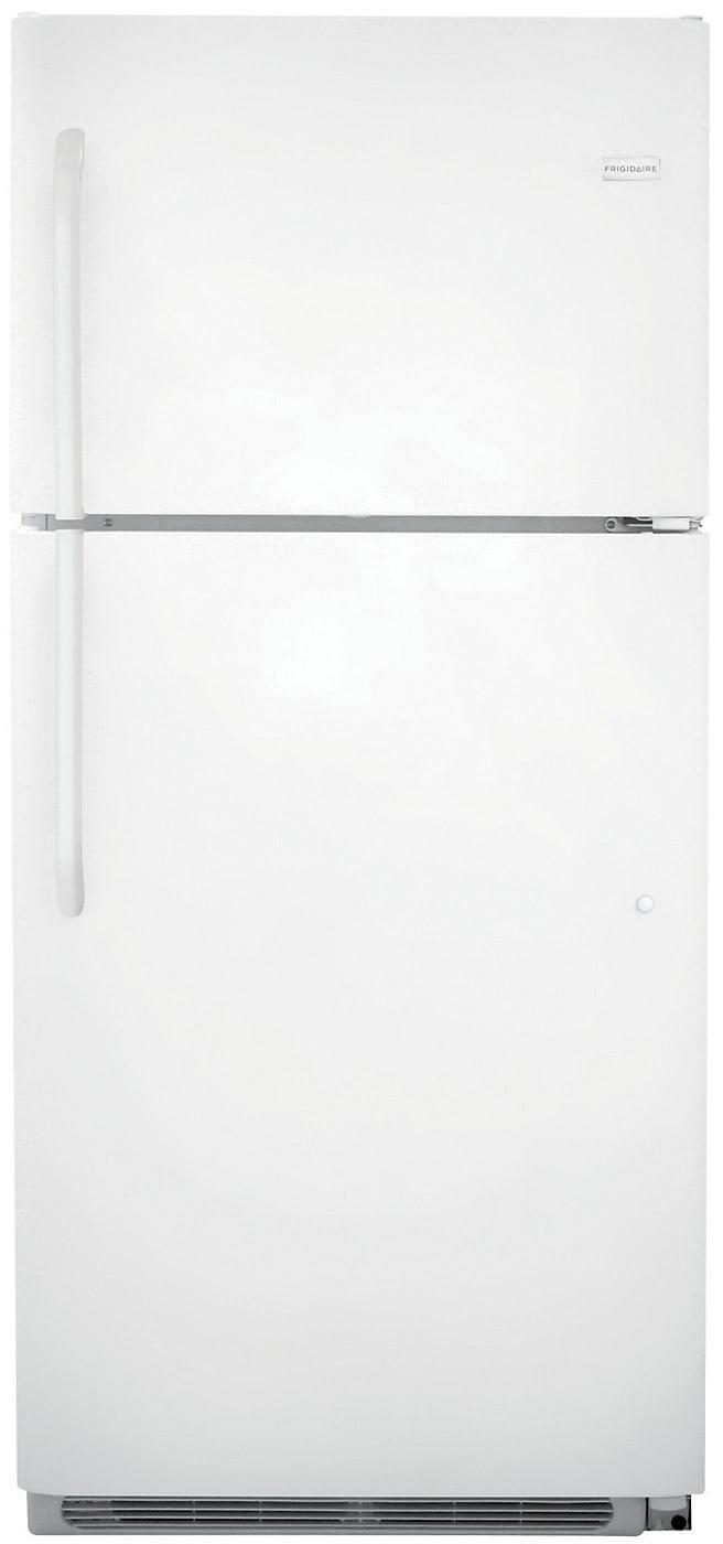 Refrigerators and Freezers - Frigidaire 20.4 Cu. Ft. Top-Freezer Refrigerator – White