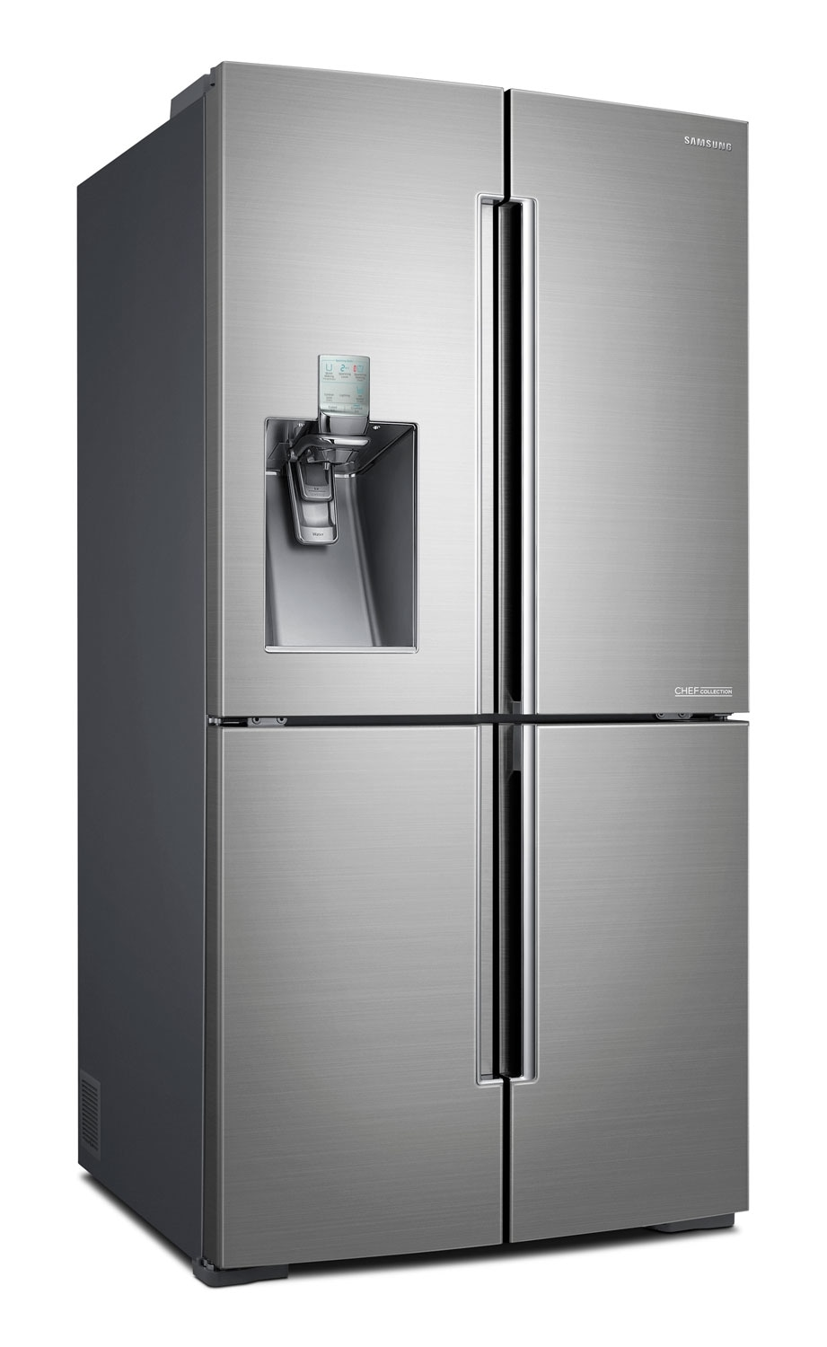 Refrigerators and Freezers - Samsung Stainless Steel French Door Refrigerator (34.3 Cu. Ft.) - RF34H9960SR