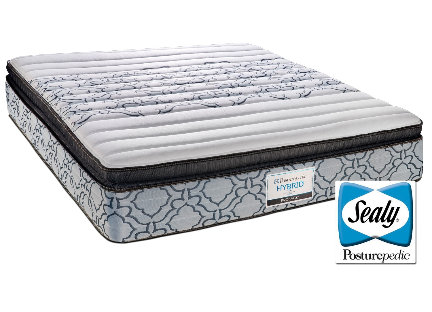 Mattresses and Bedding - Sealy Snow Flake Queen Mattress