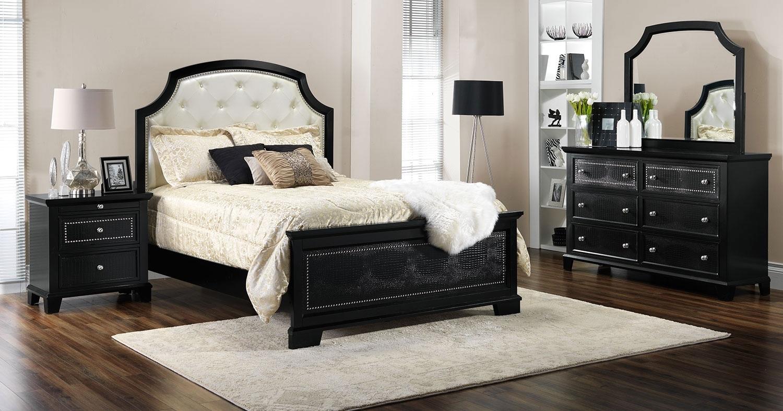 Marlina 5 Piece King Bedroom Set Espresso Leon 39 S