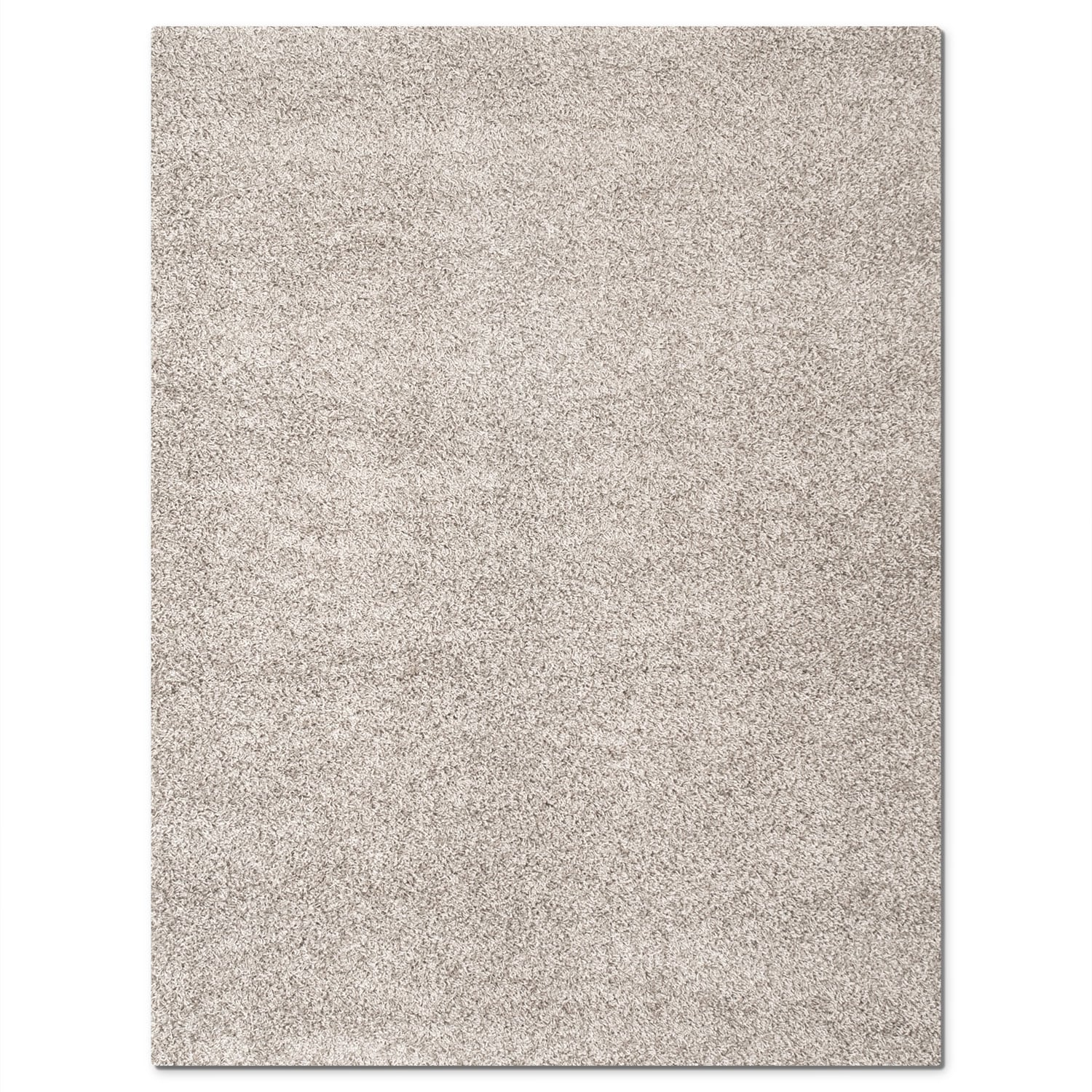 Domino gray shag area rug 8 39 x 10 39 value city furniture for Living room rugs 8 by 10