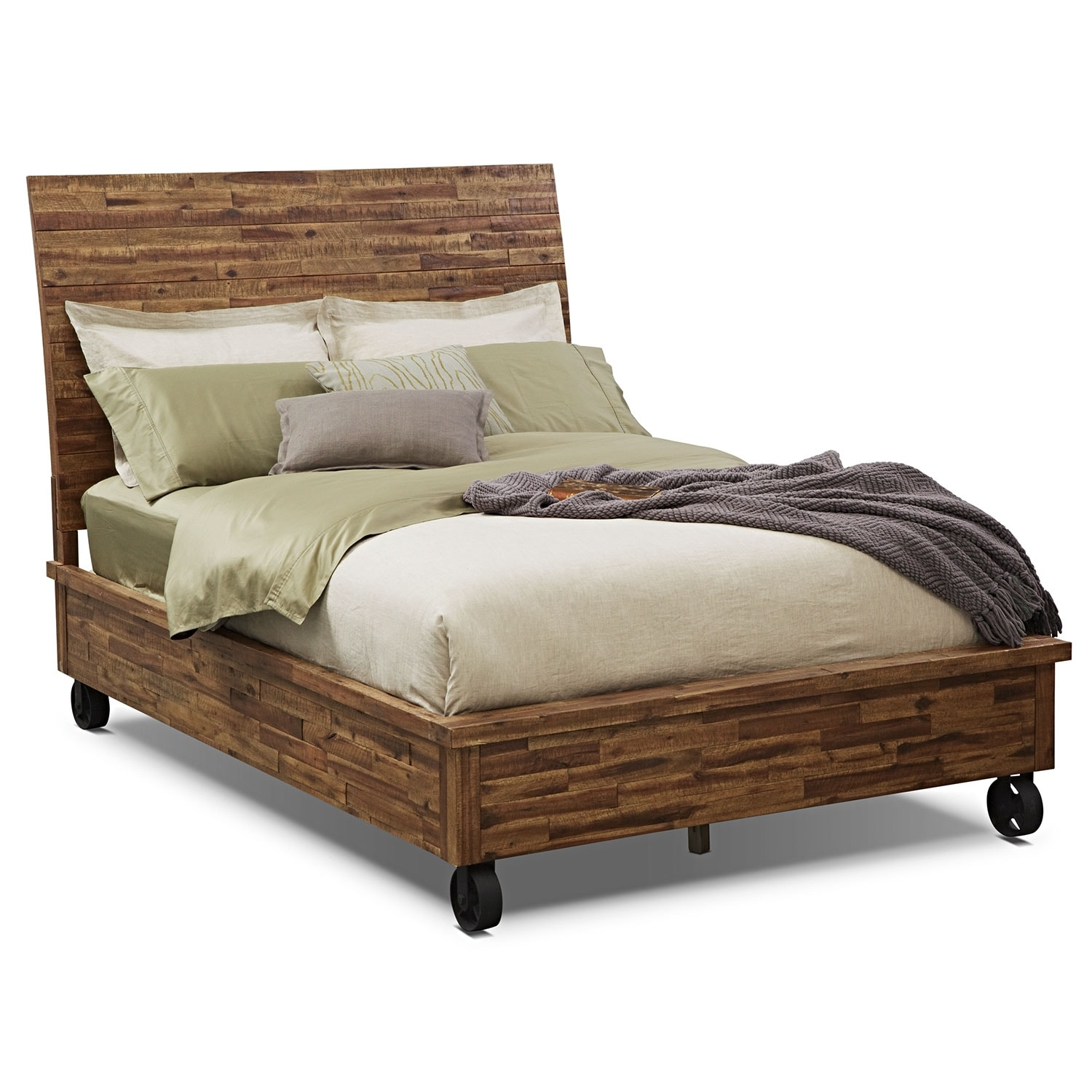 [Crosswoods King Bed]