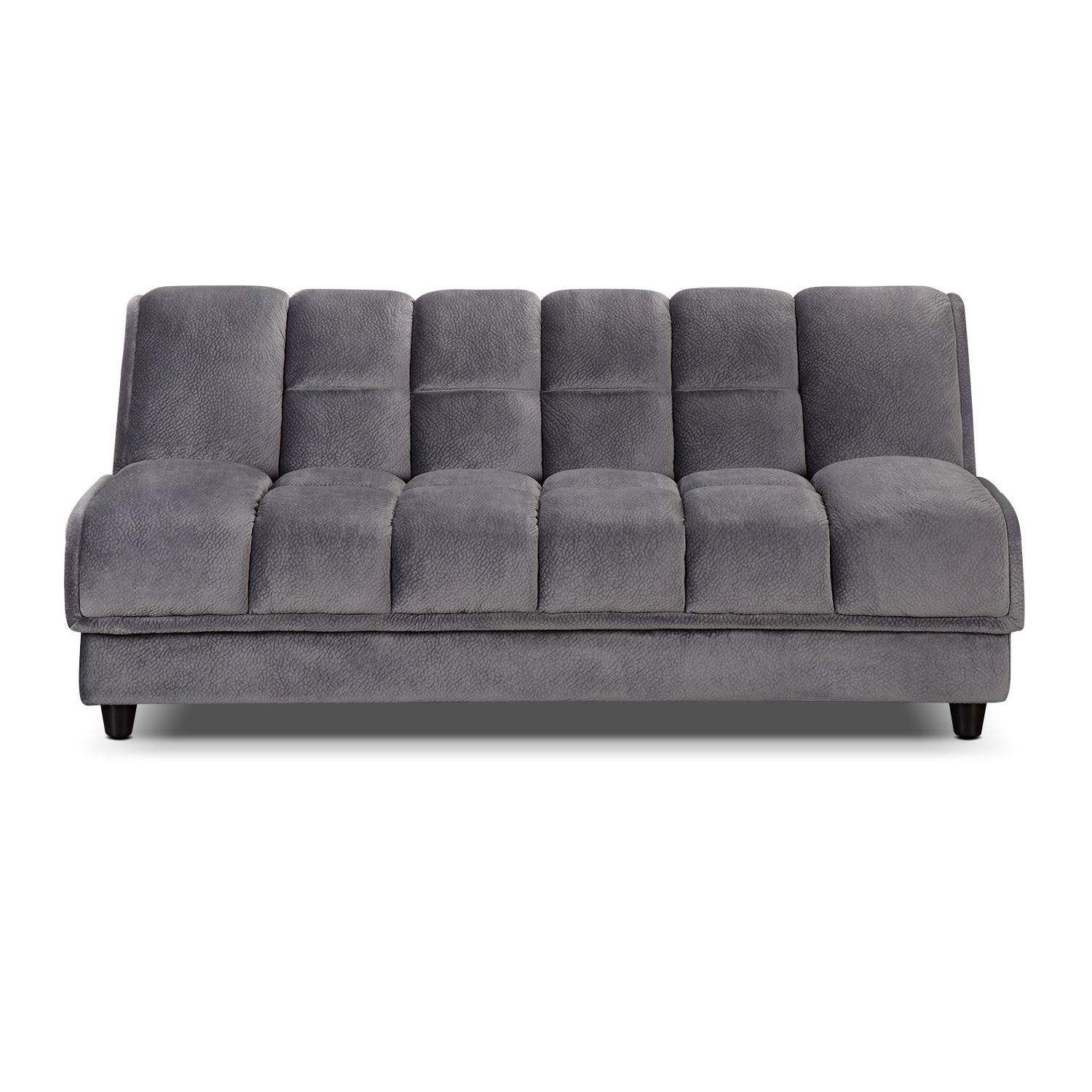 Bennett Futon Sofa Bed - Gray