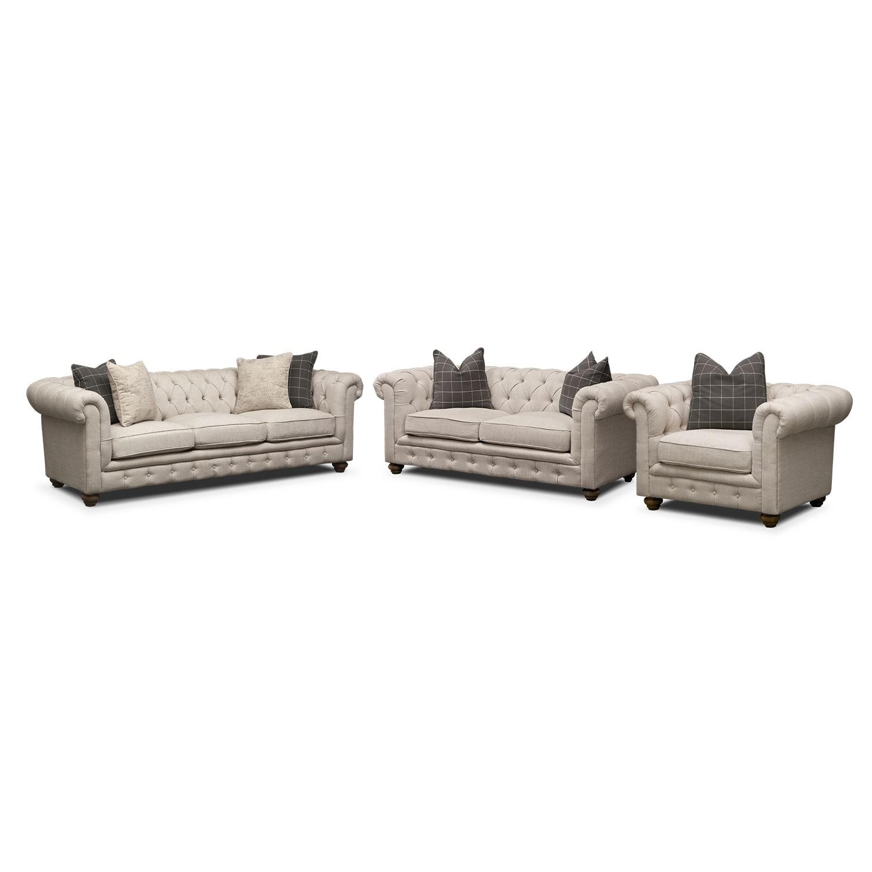 Madeline Apartment Sofa Beige Value City Furniture