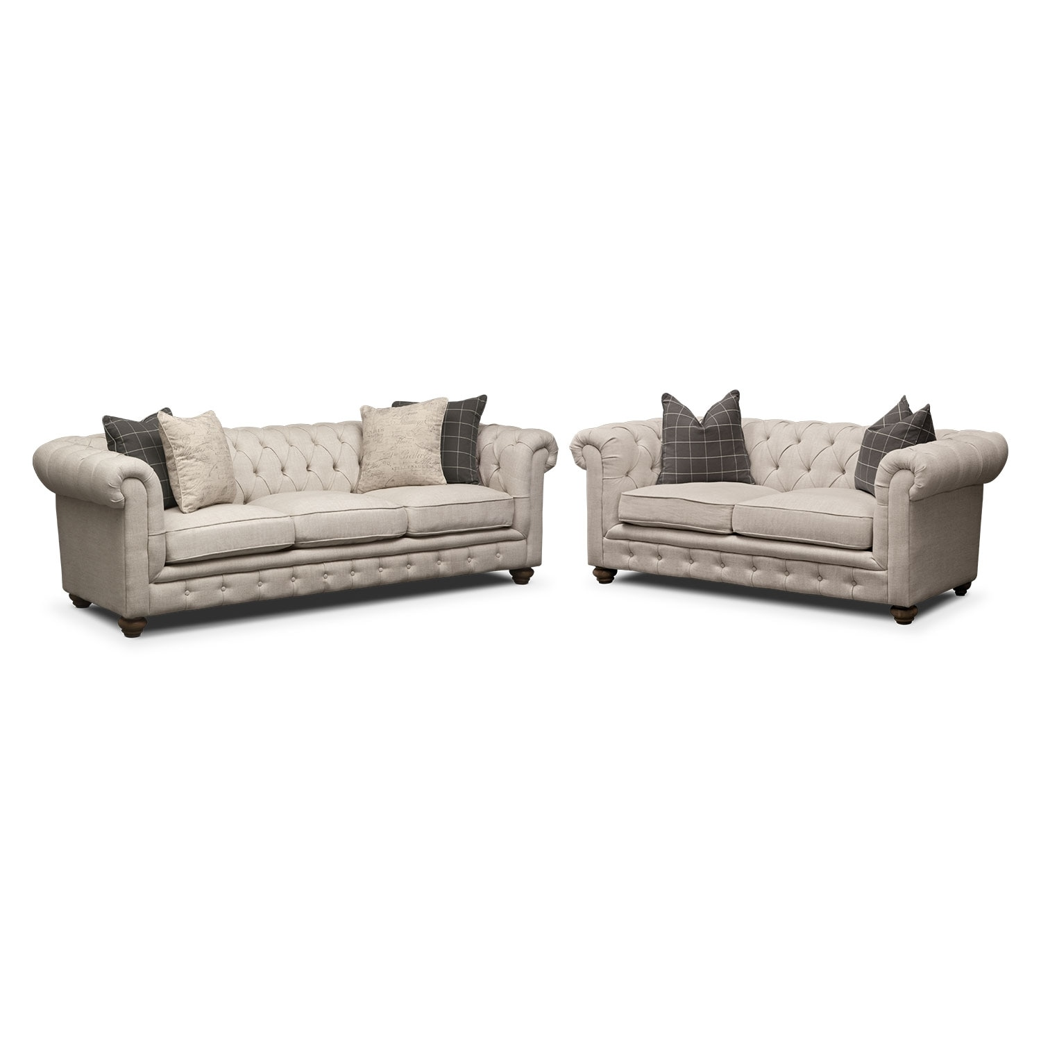 Madeline Sofa and Apartment Sofa Set Beige Value City  : 349725 from www.valuecityfurniture.com size 1500 x 1500 jpeg 95kB