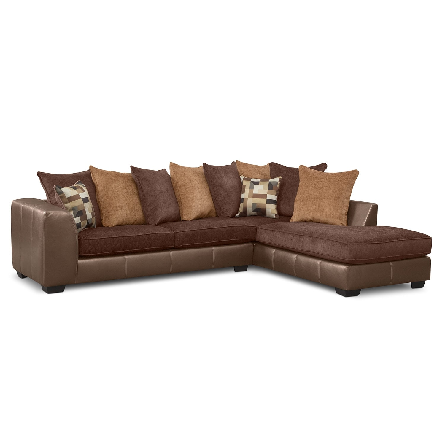 [Montero 2 Pc. Sectional]