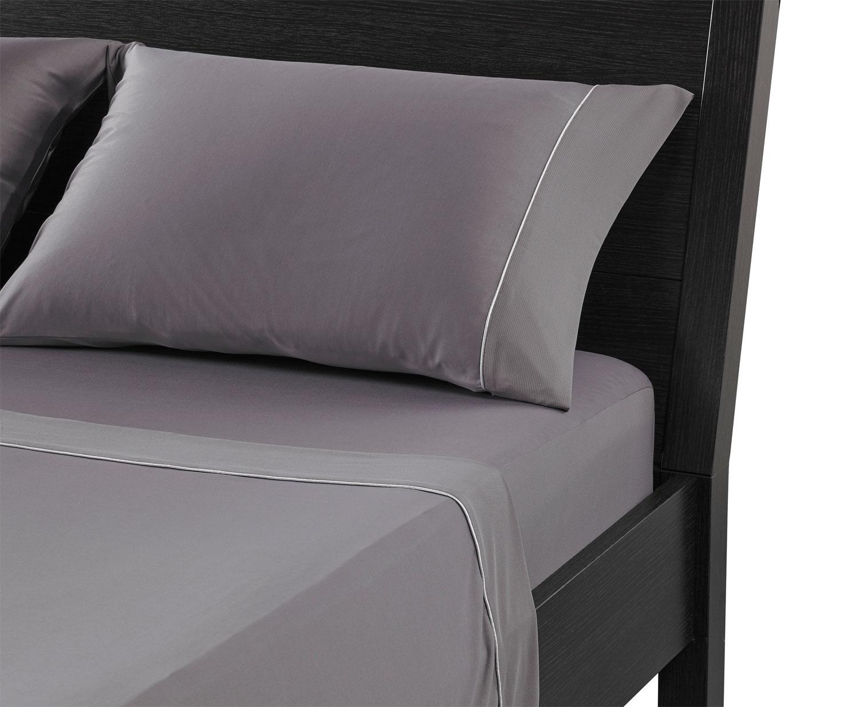 Mattresses and Bedding - Bedgear™ Dri-Tec® King Sheet Set – Grey