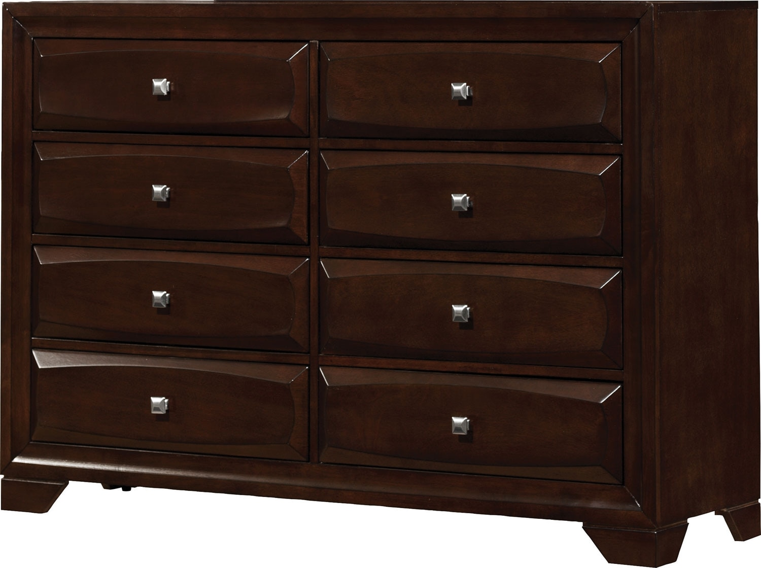 Jaxon dresser united furniture warehouse for Bedroom dressers