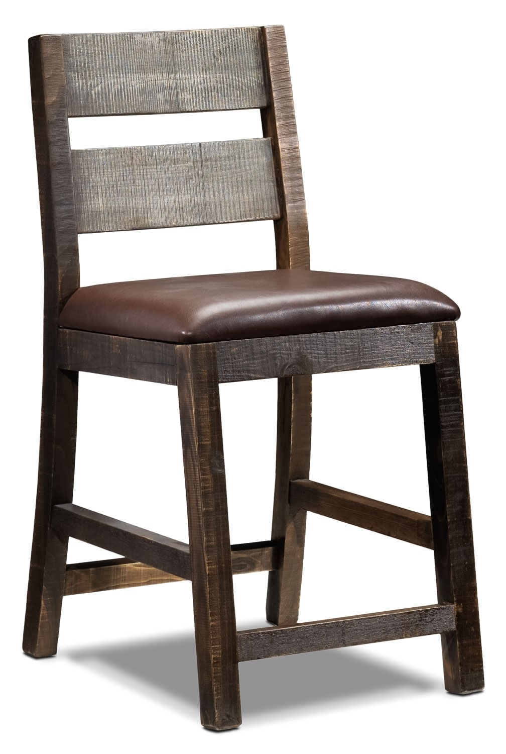 Allison Pine Pub Chair - Antiqued Pine