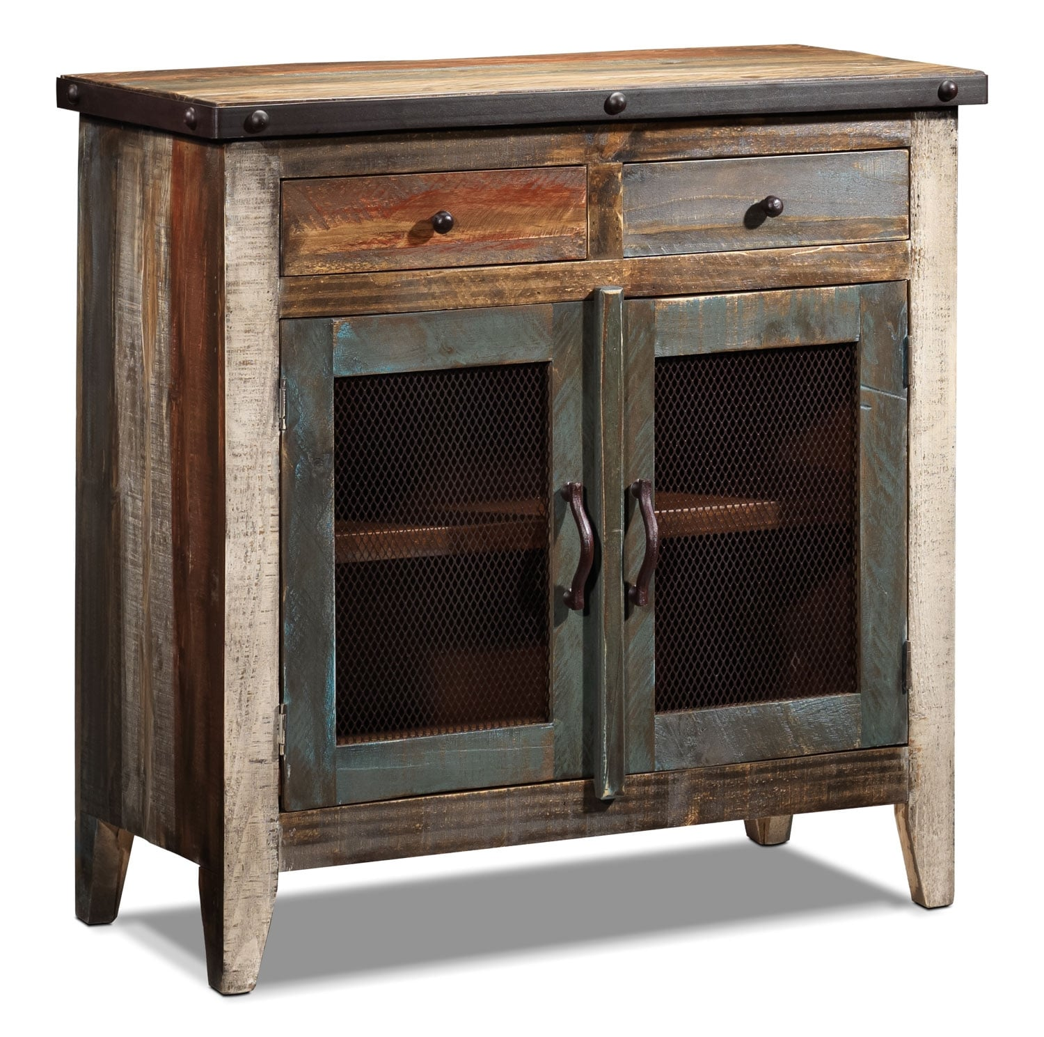 Allison Pine Server - Antiqued Pine