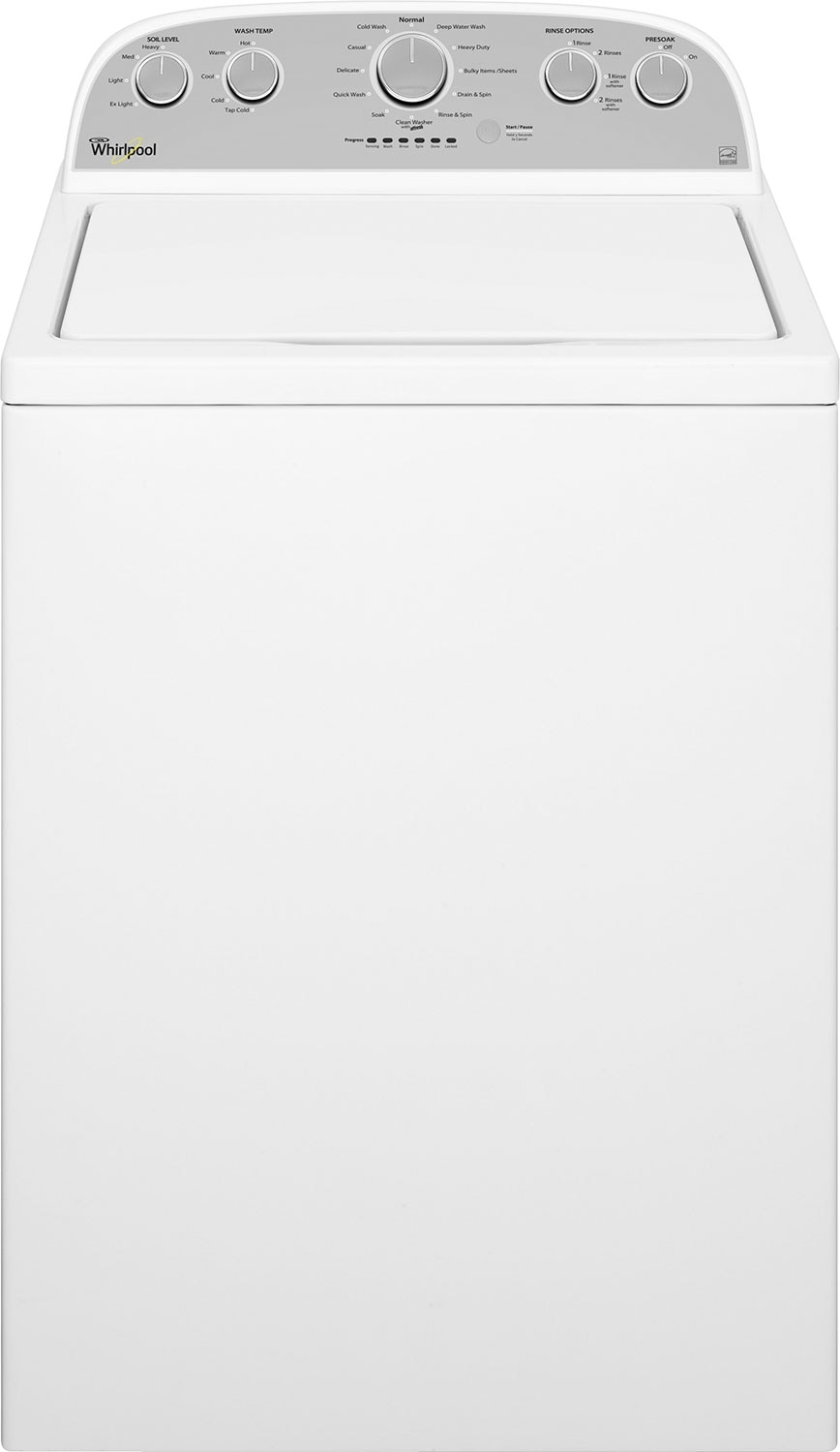 Washers and Dryers - Whirlpool® 5.0 Cu. Ft. Cabrio® High-Efficiency Top-Load Washer