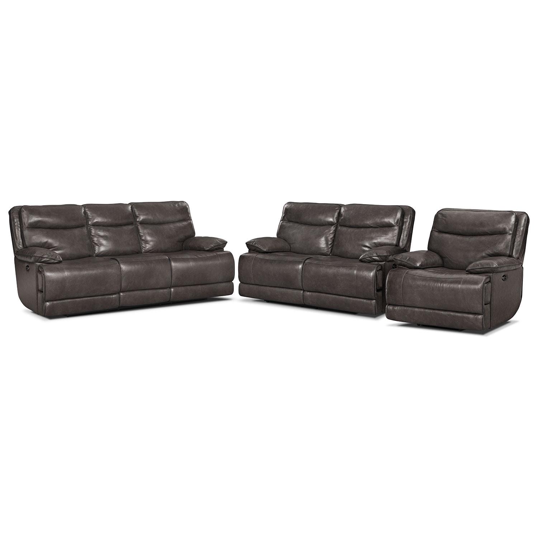 Room Furniture Monaco Power Reclining Sofa Reclining Loveseat