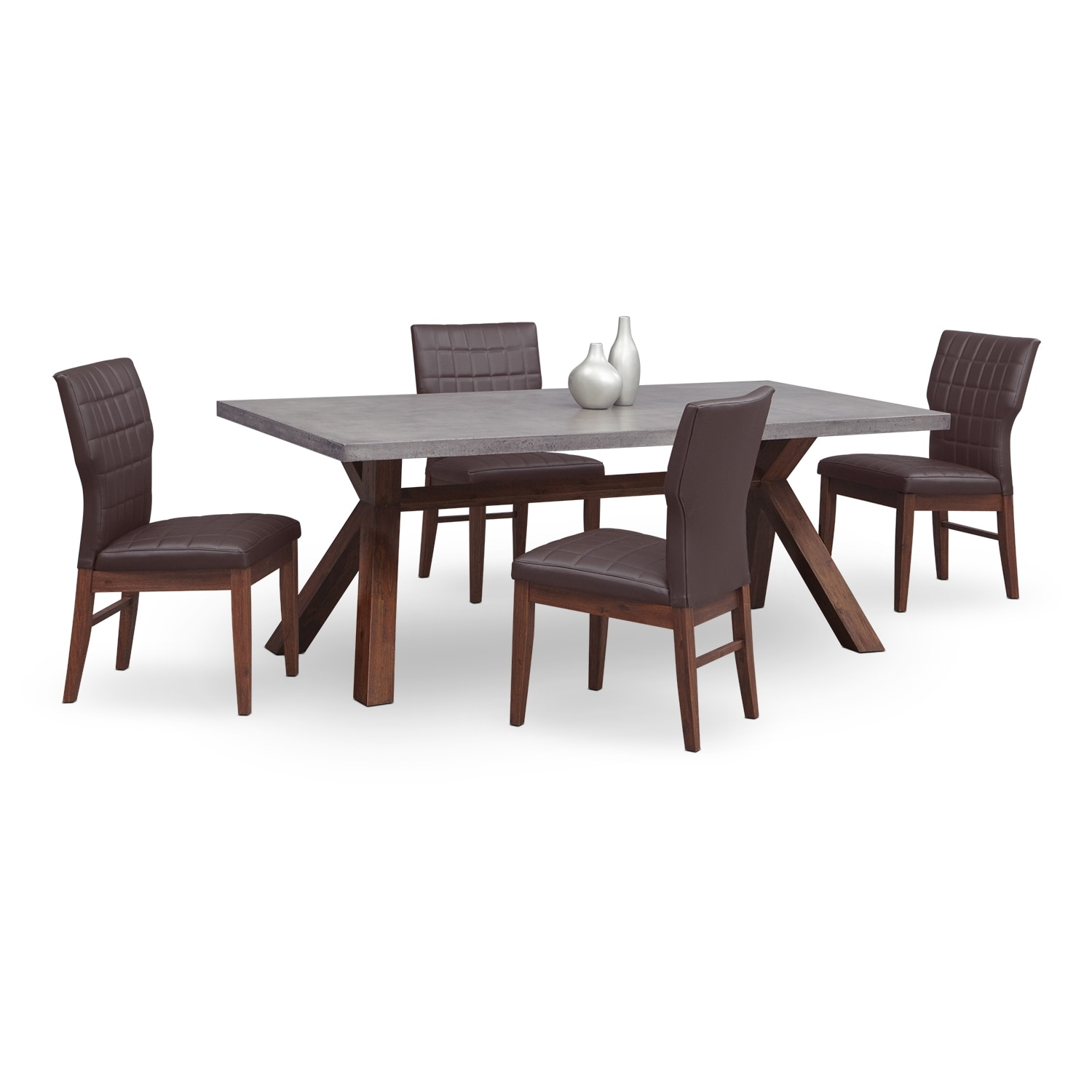 City Furniture Dining Room Dining Room Furniture Luna Pearl Ii 5 Pc Dinette 60 Images Patio