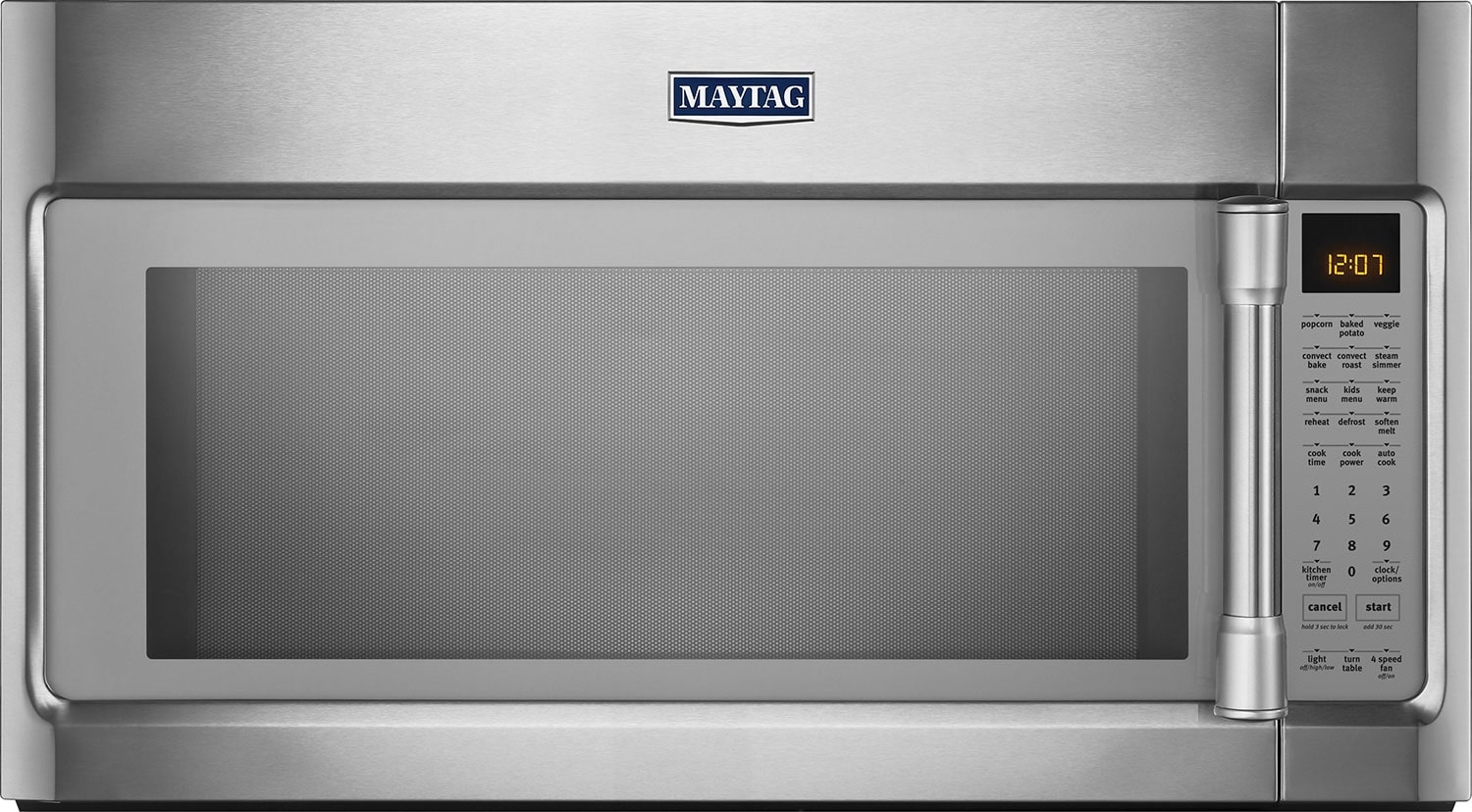 Cooking Products - Maytag® 1.9 Cu. Ft. Over-the-Range Microwave – Stainless Steel