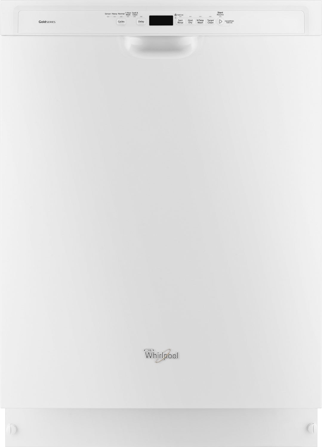 Clean-Up - Whirlpool Gold® Built-In Dishwasher with TargetClean™ – White