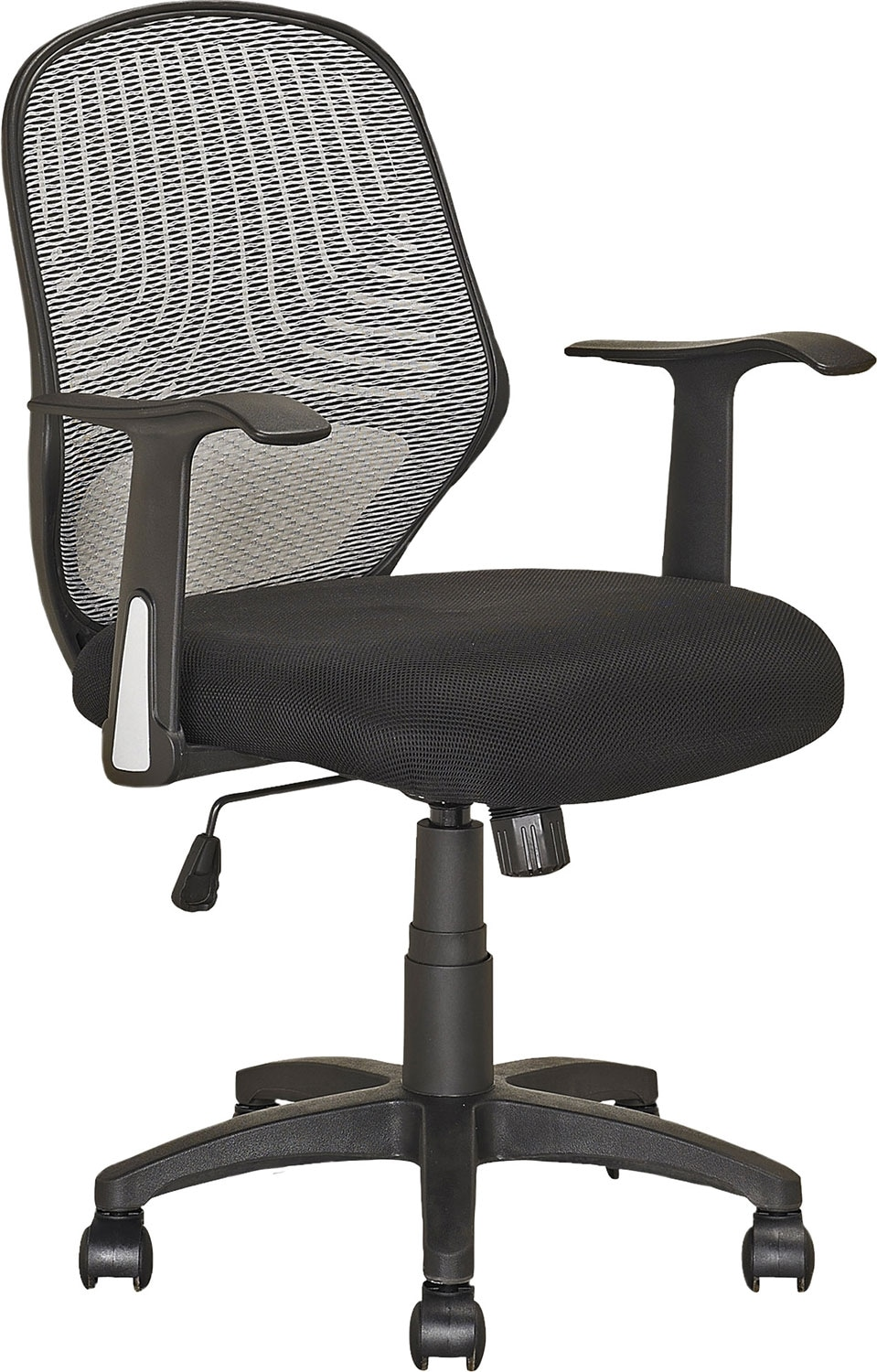 Dallas soft fabric office chair with back support united furniture warehouse - Home office furniture dallas ...