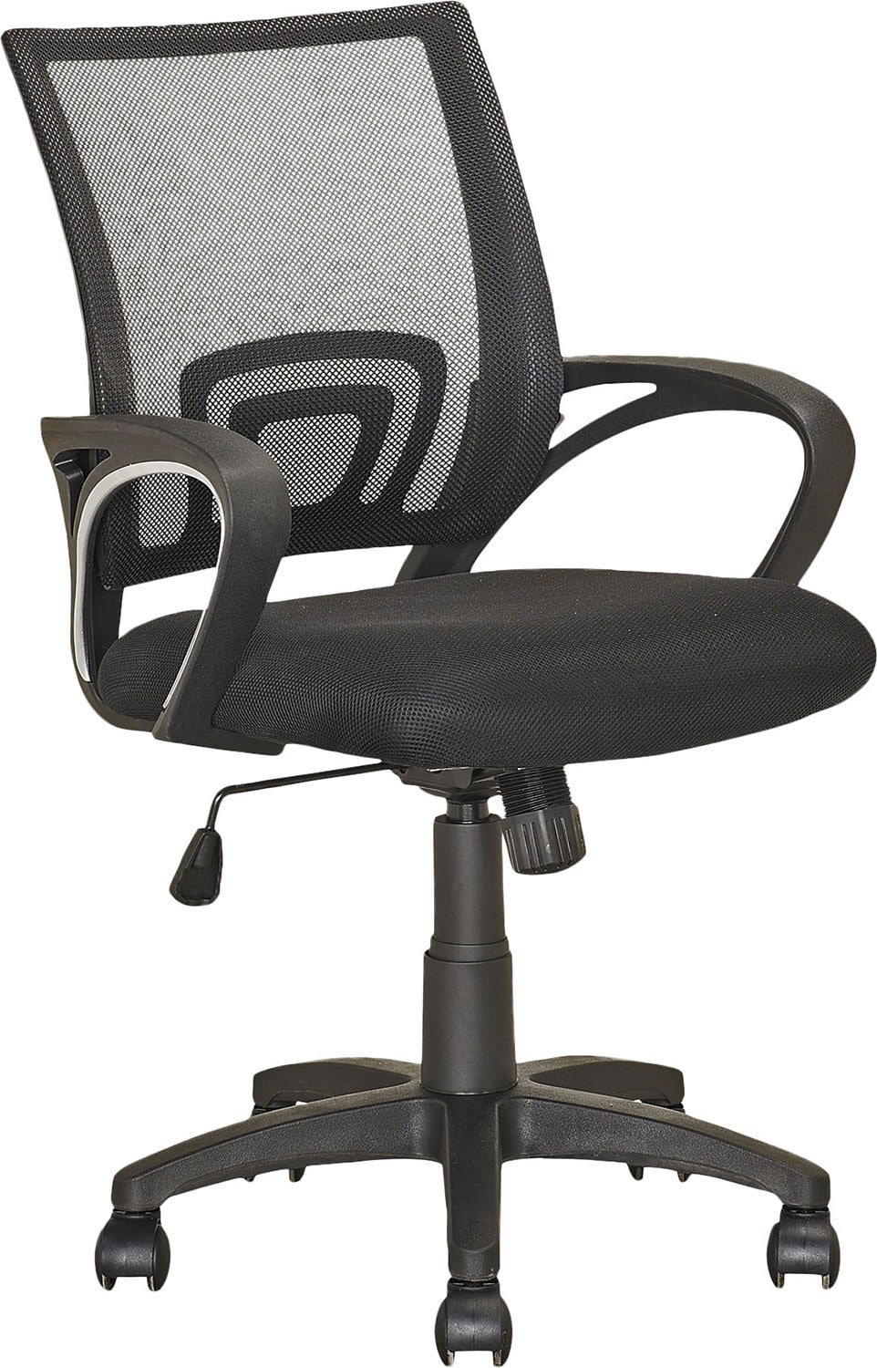 Home Office Furniture - Memphis Soft Fabric Office Chair with Back Support