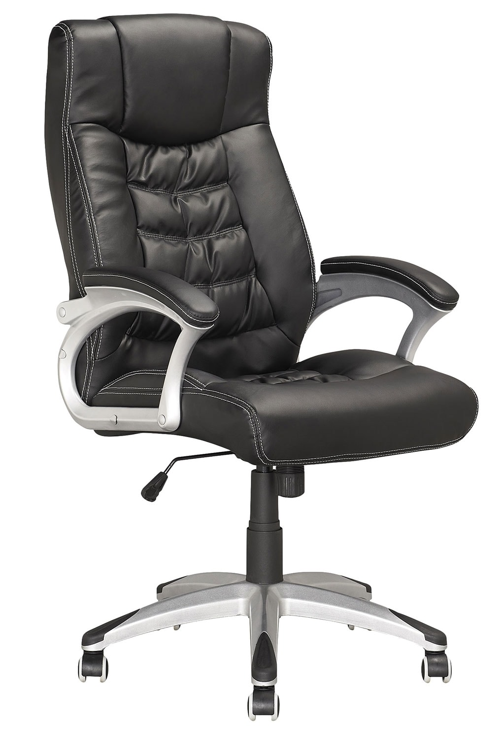 Home Office Furniture - Tampa Foam-Padded Leatherette Executive Office Chair