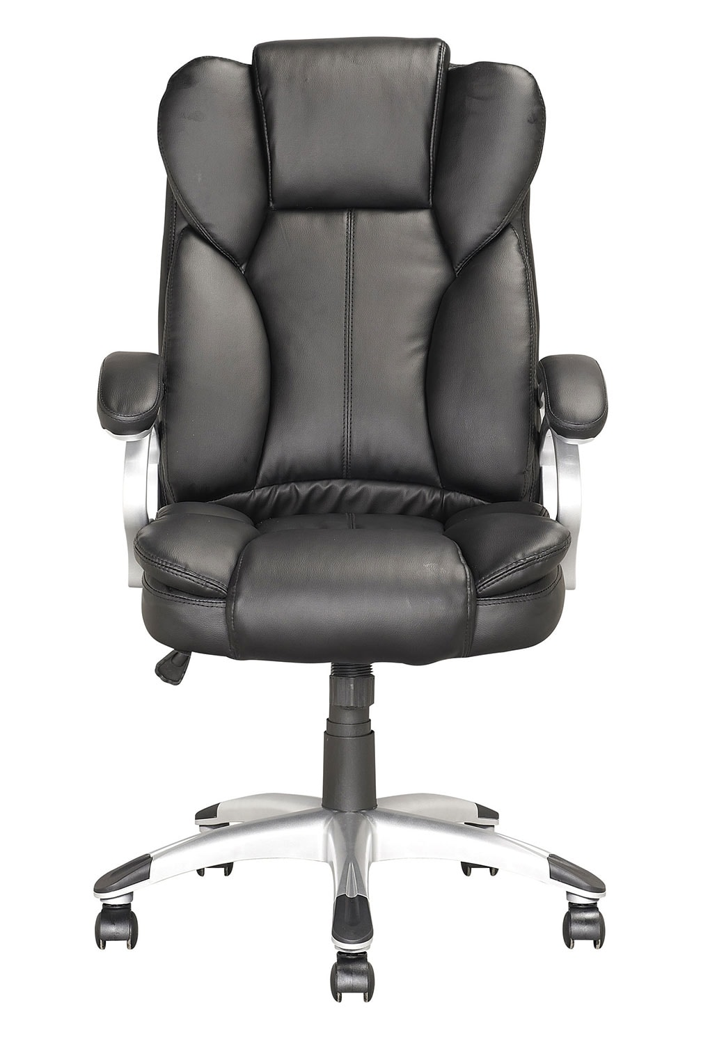 miami foam padded leatherette executive office chair the