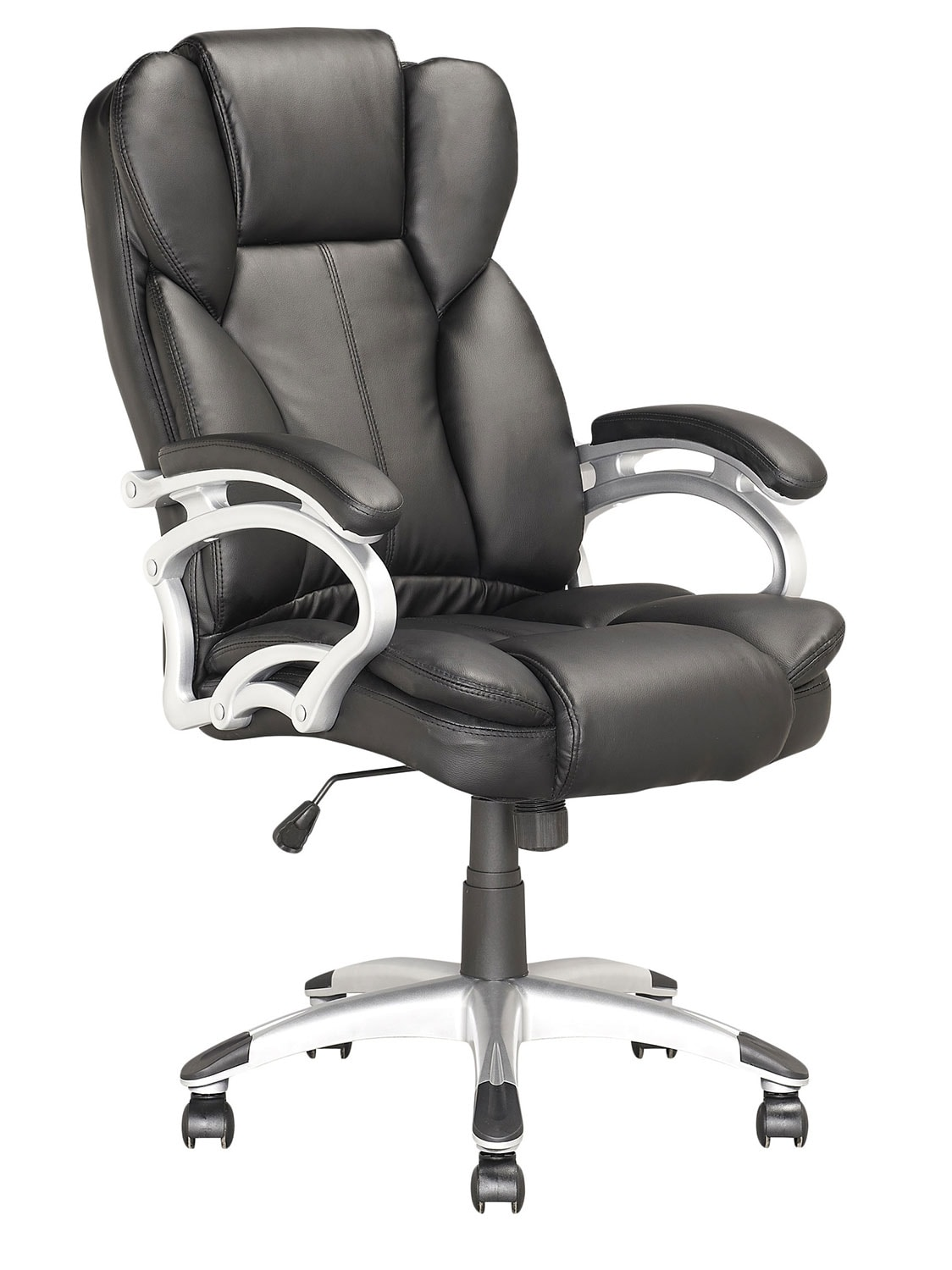 Miami Foam-Padded Leatherette Executive Office Chair