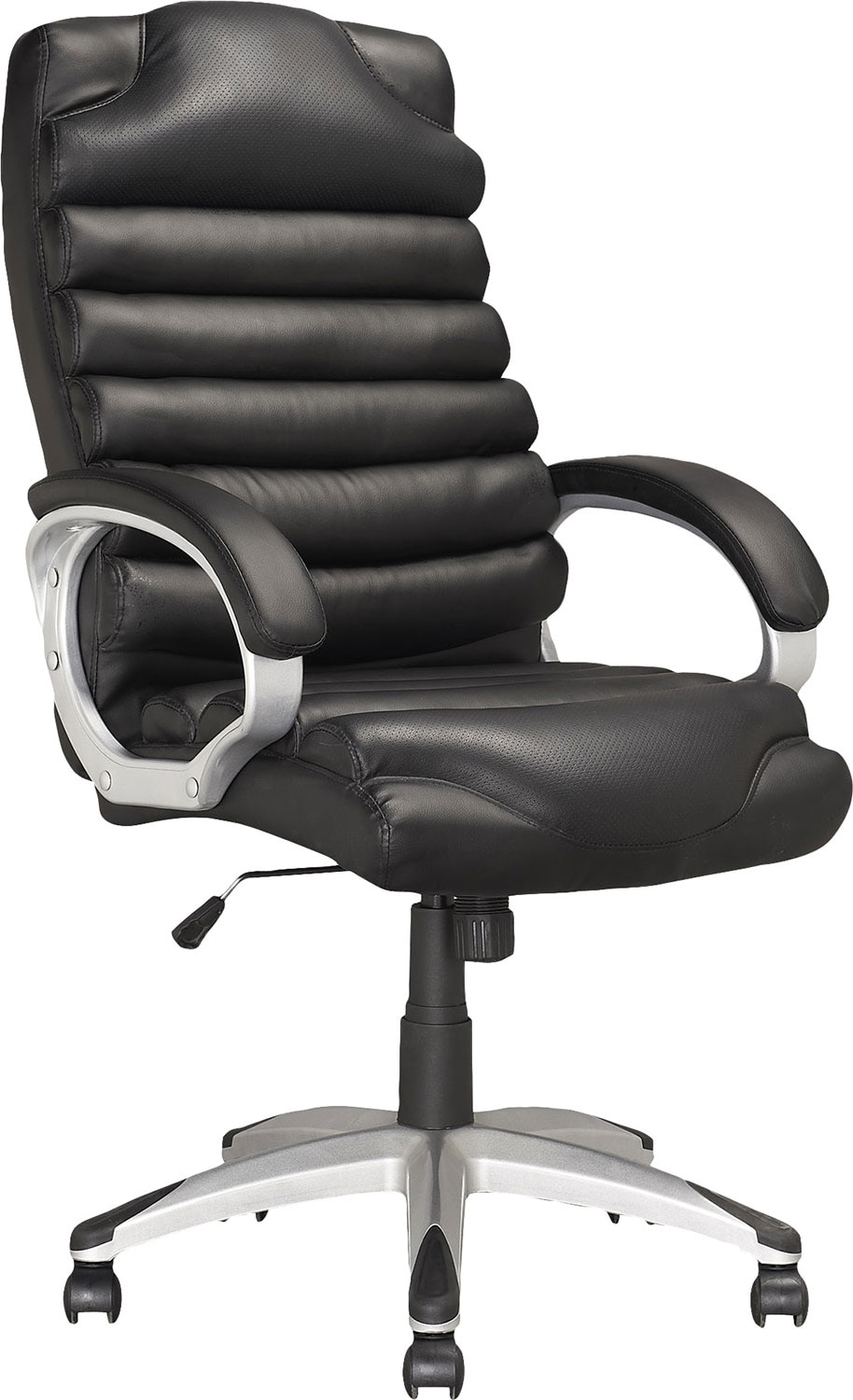 Home Office Furniture - Sacramento Foam-Padded Leatherette Executive Office Chair
