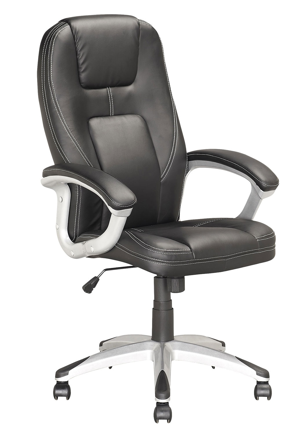 Home Office Furniture - Henderson Foam-Padded Leatherette Executive Office Chair