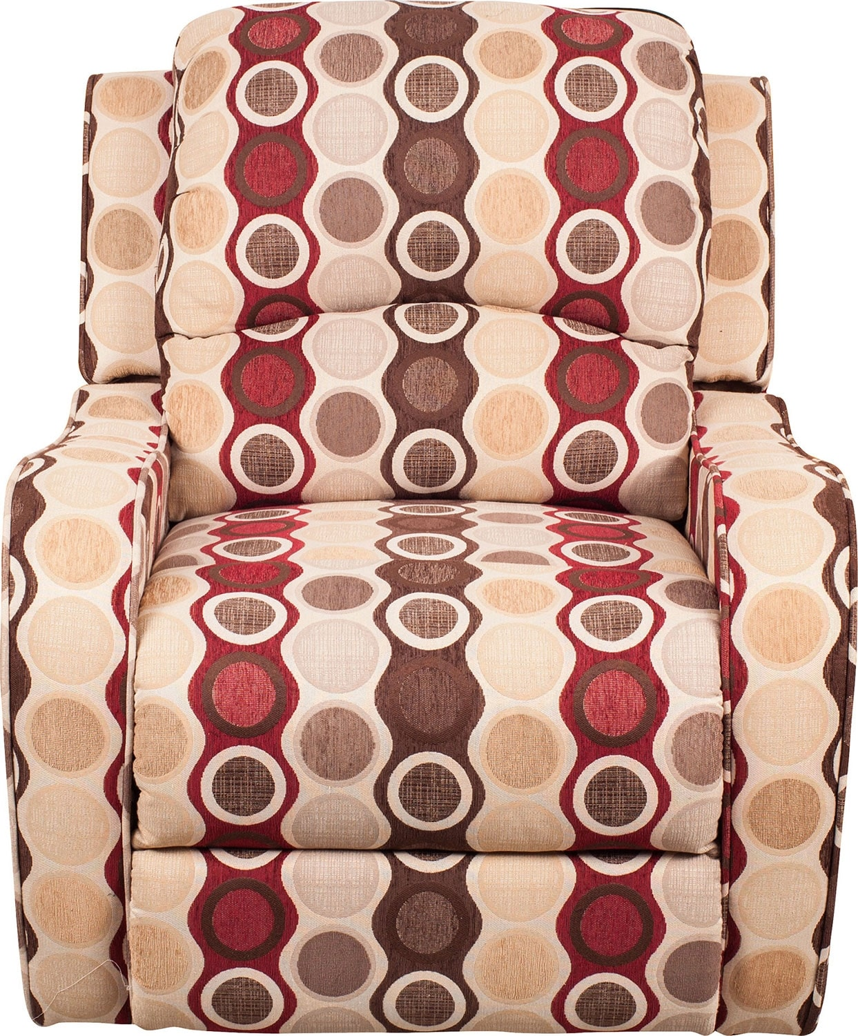 Living Room Furniture - Evan Fabric Power Reclining Chair