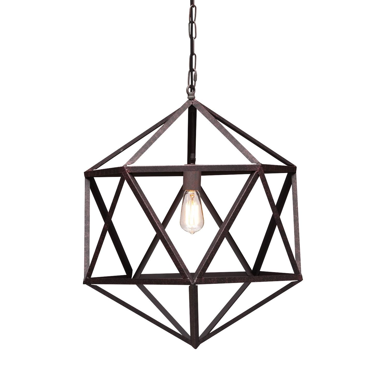 amethyst chandelier