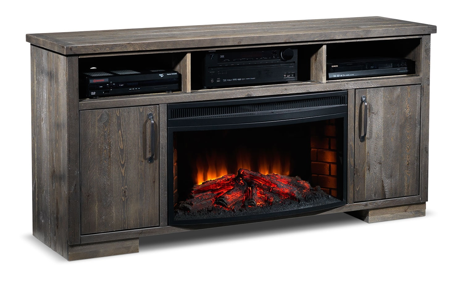 Entertainment Furniture - Holt Fireplace Credenza